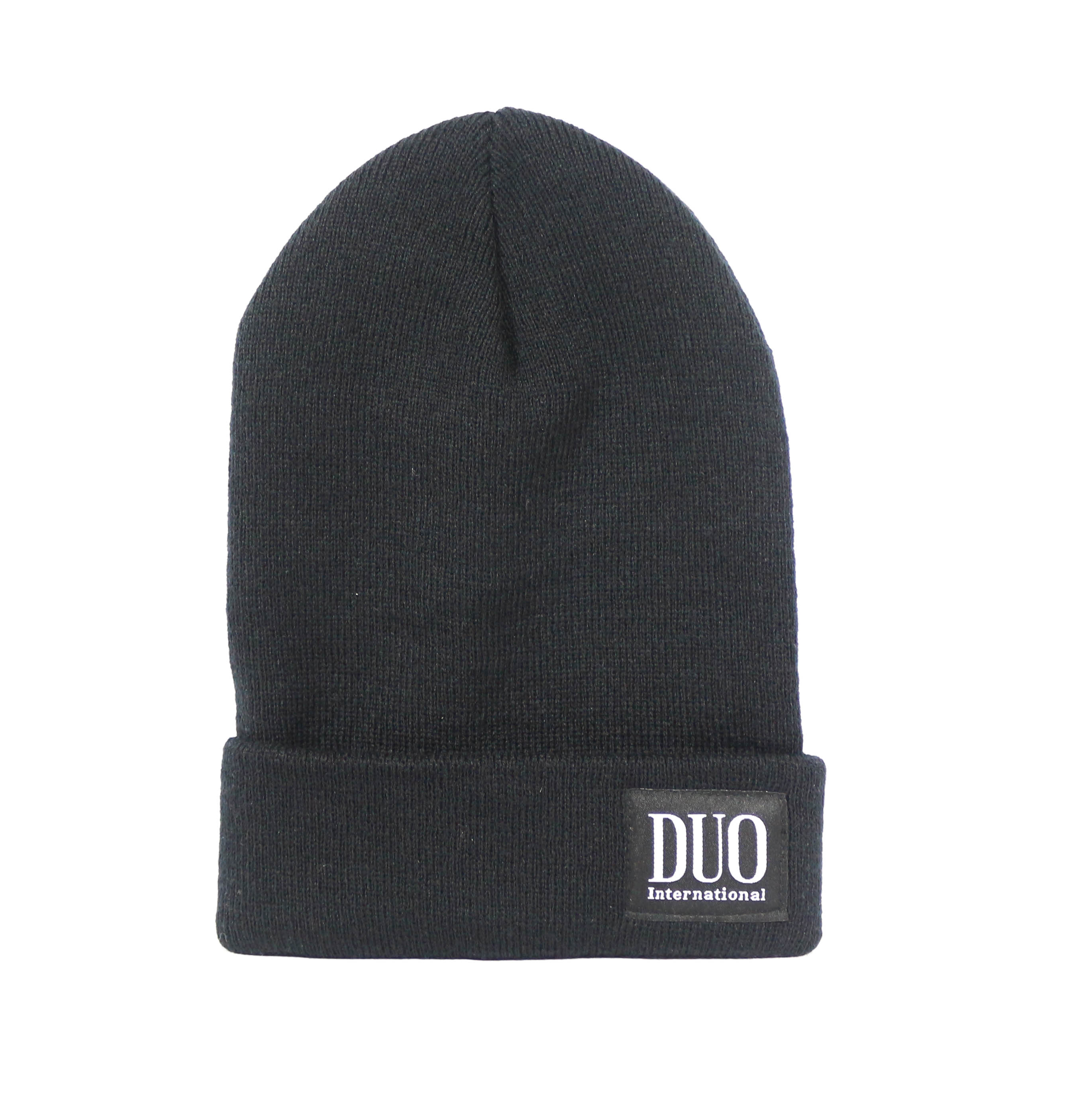 Duo Hat Beanie for Cold Weather Black (1251)