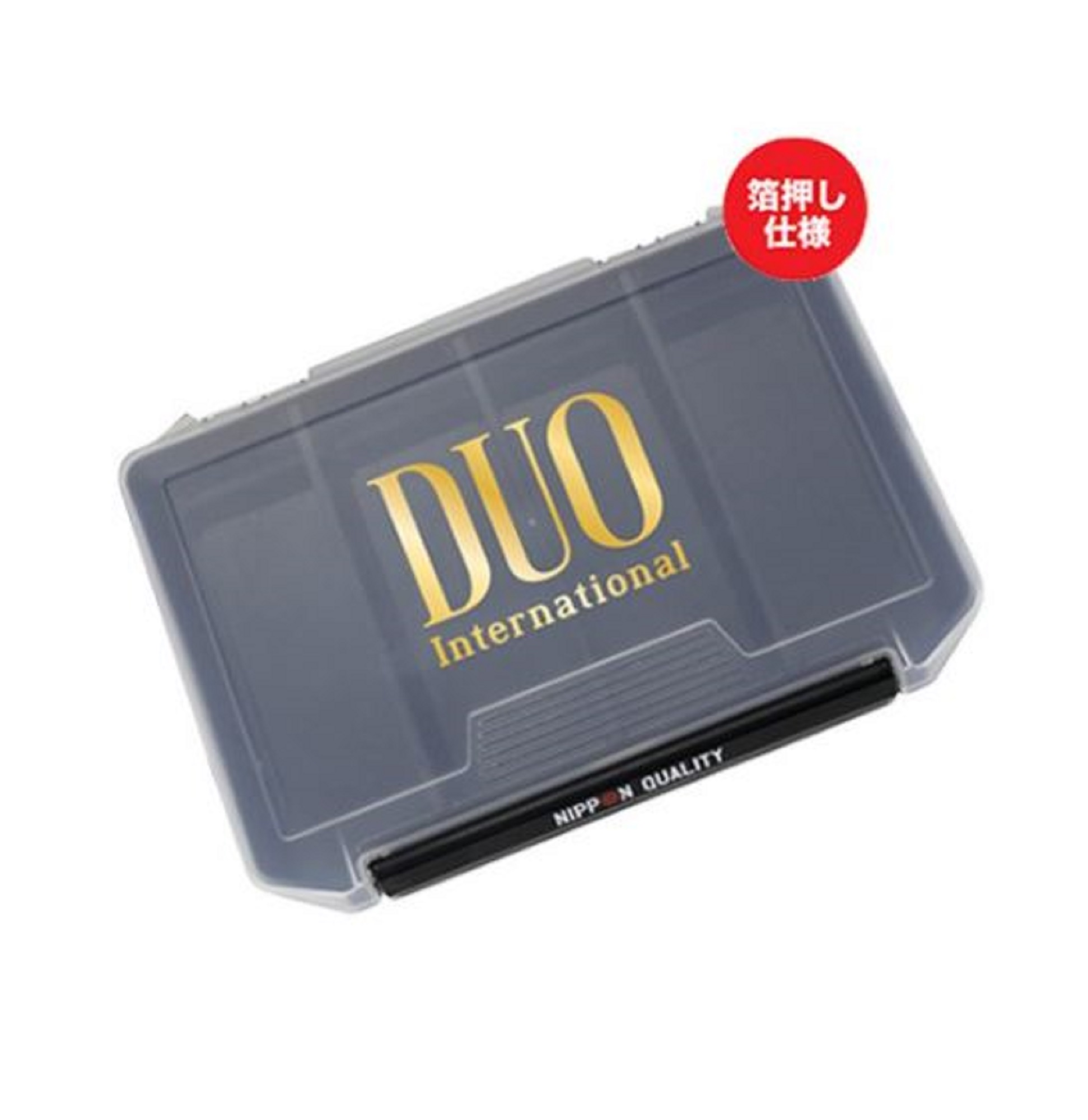 Duo Meiho Tackle Box 3010NDM 205 x 145 x 40 mm Black Gold (8461)