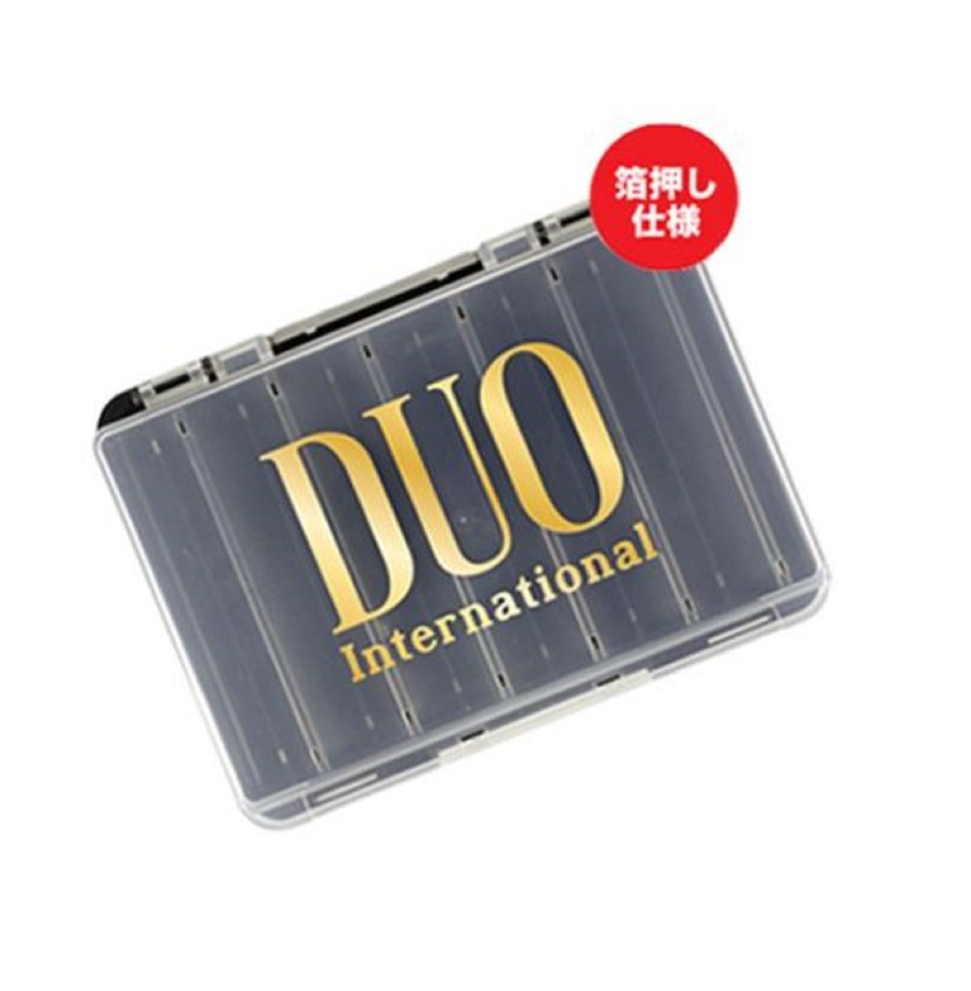 Duo Meiho Tackle Box Reversible D86 140 x 104 x 32 mm Black Gold (8515)