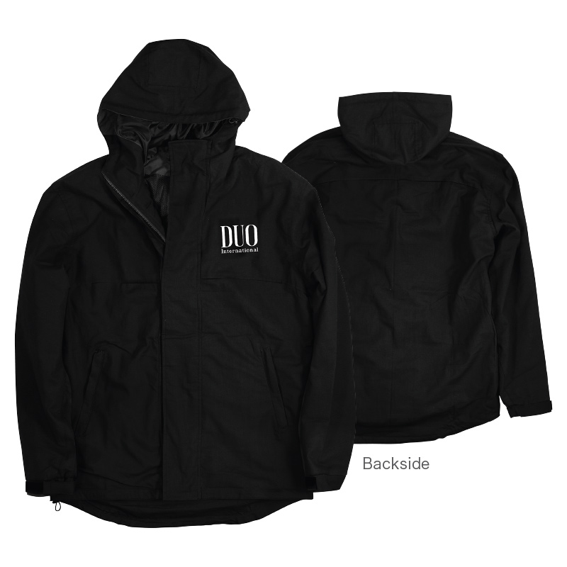 Duo Jacket Windbreaker Original Japan Black Size L (0314)