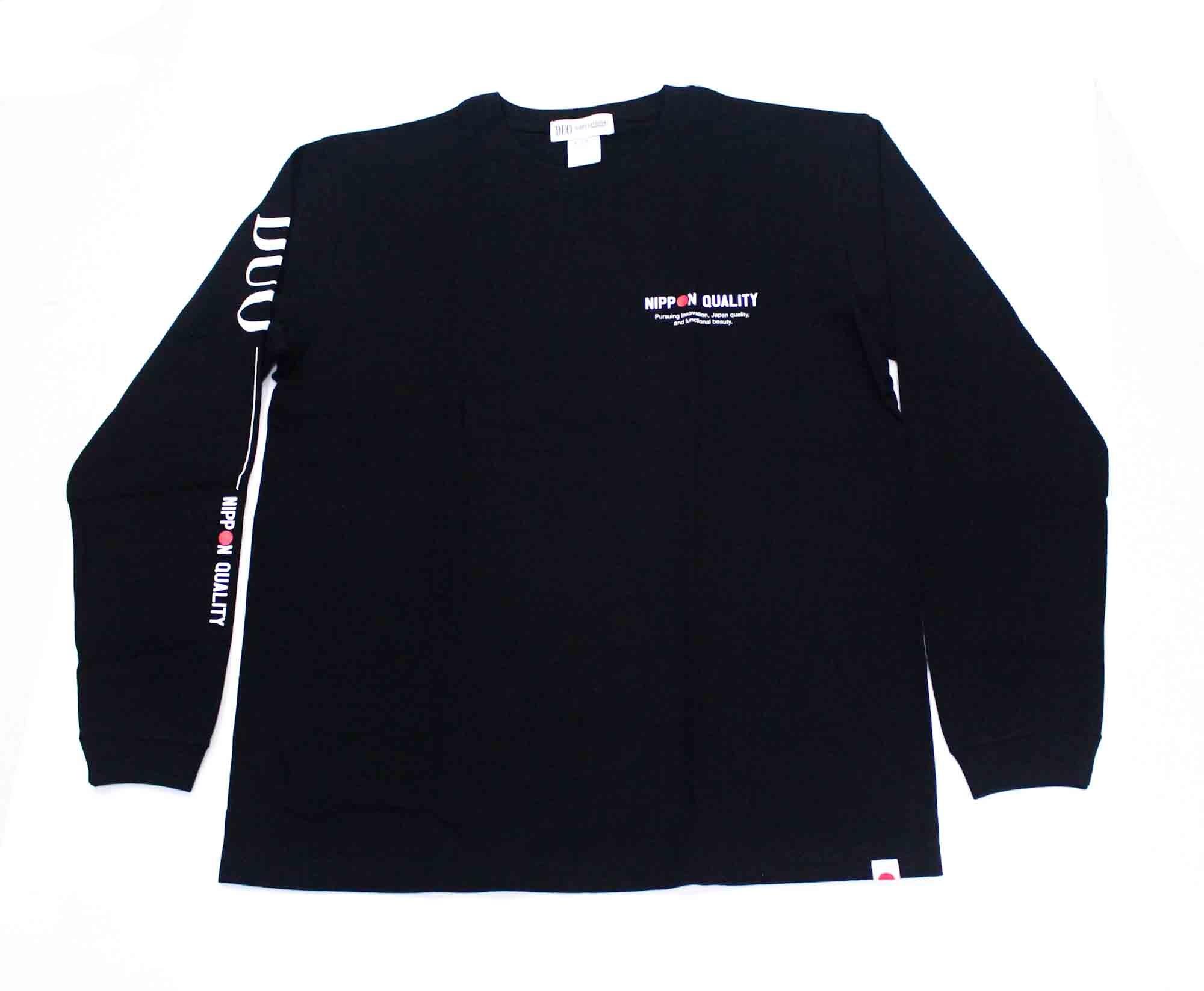 Duo T Shirt Long Sleeve 2021 Black Size L (1027)
