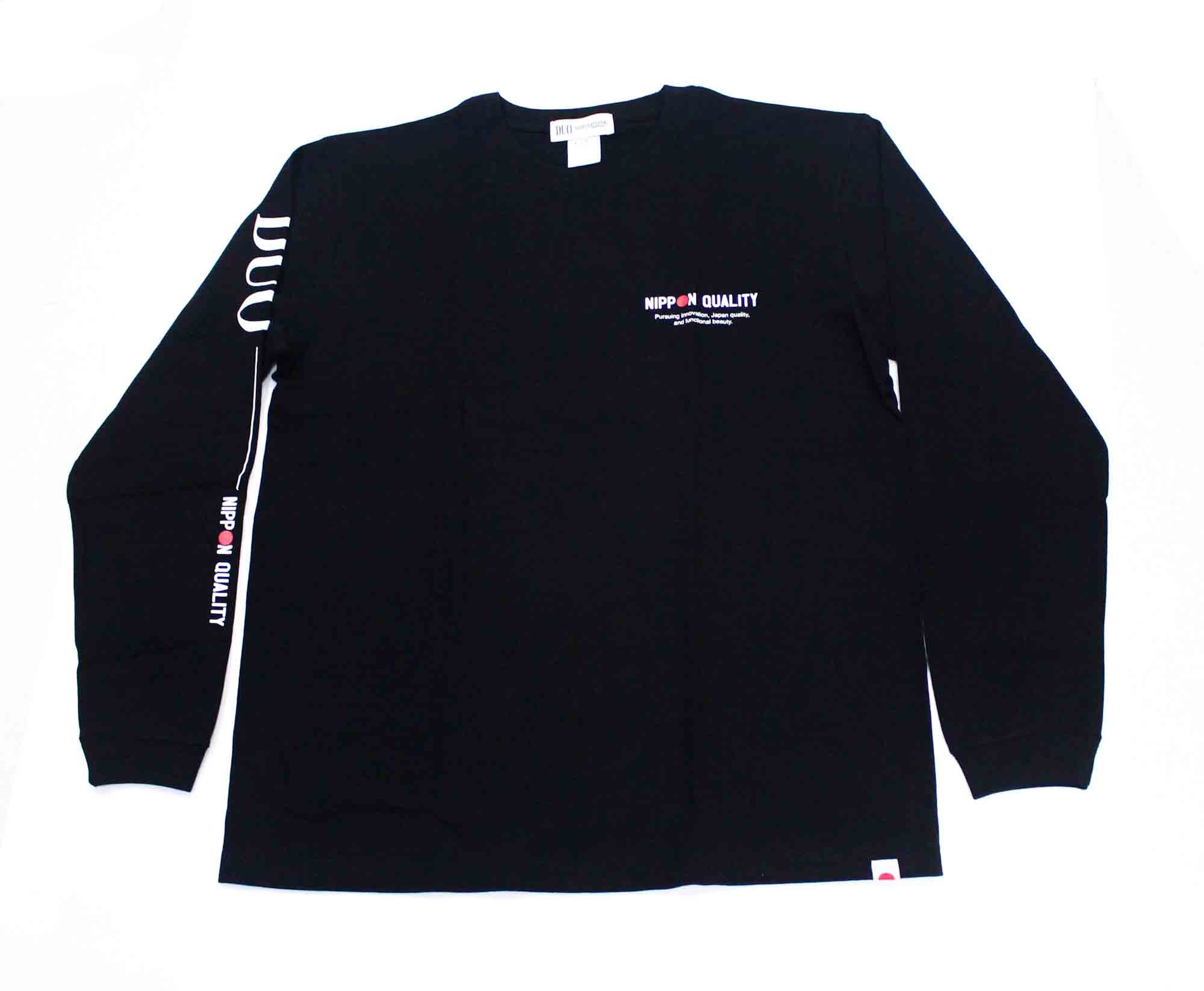 Duo T Shirt Long Sleeve 2021 Black Size XL (1034)