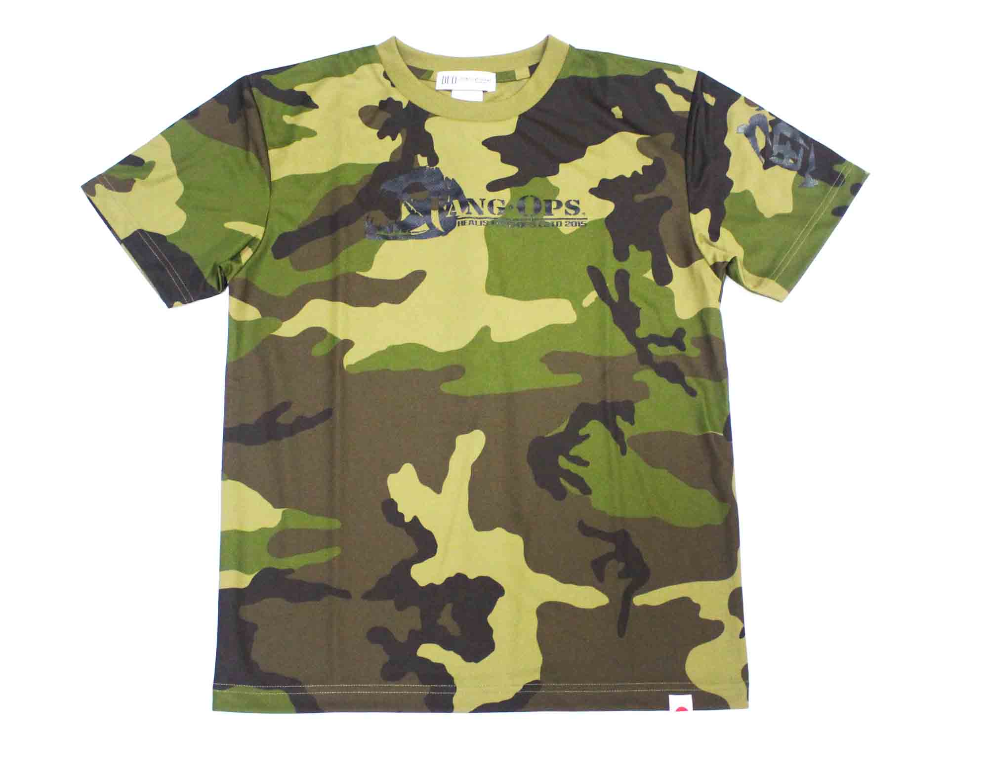 Duo T Shirt Fang Ops Beast Short Sleeve Dry Fit Camo Size S (1416)