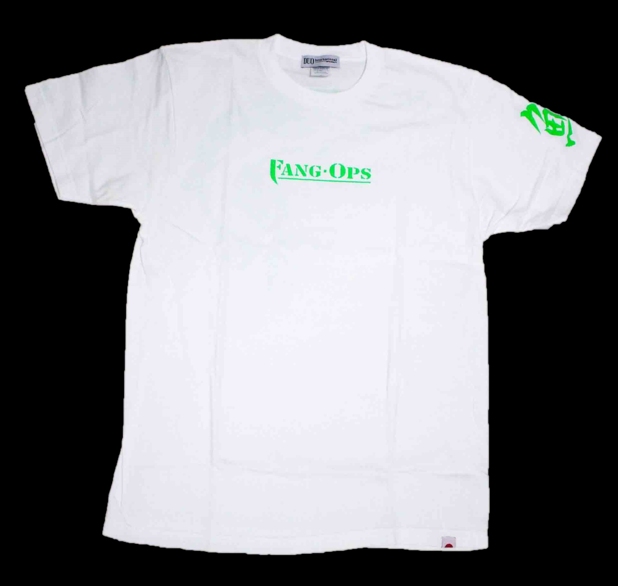 Duo T Shirt Fang Ops Beast Pike Short Sleeve Cotton White Size XL (1546)