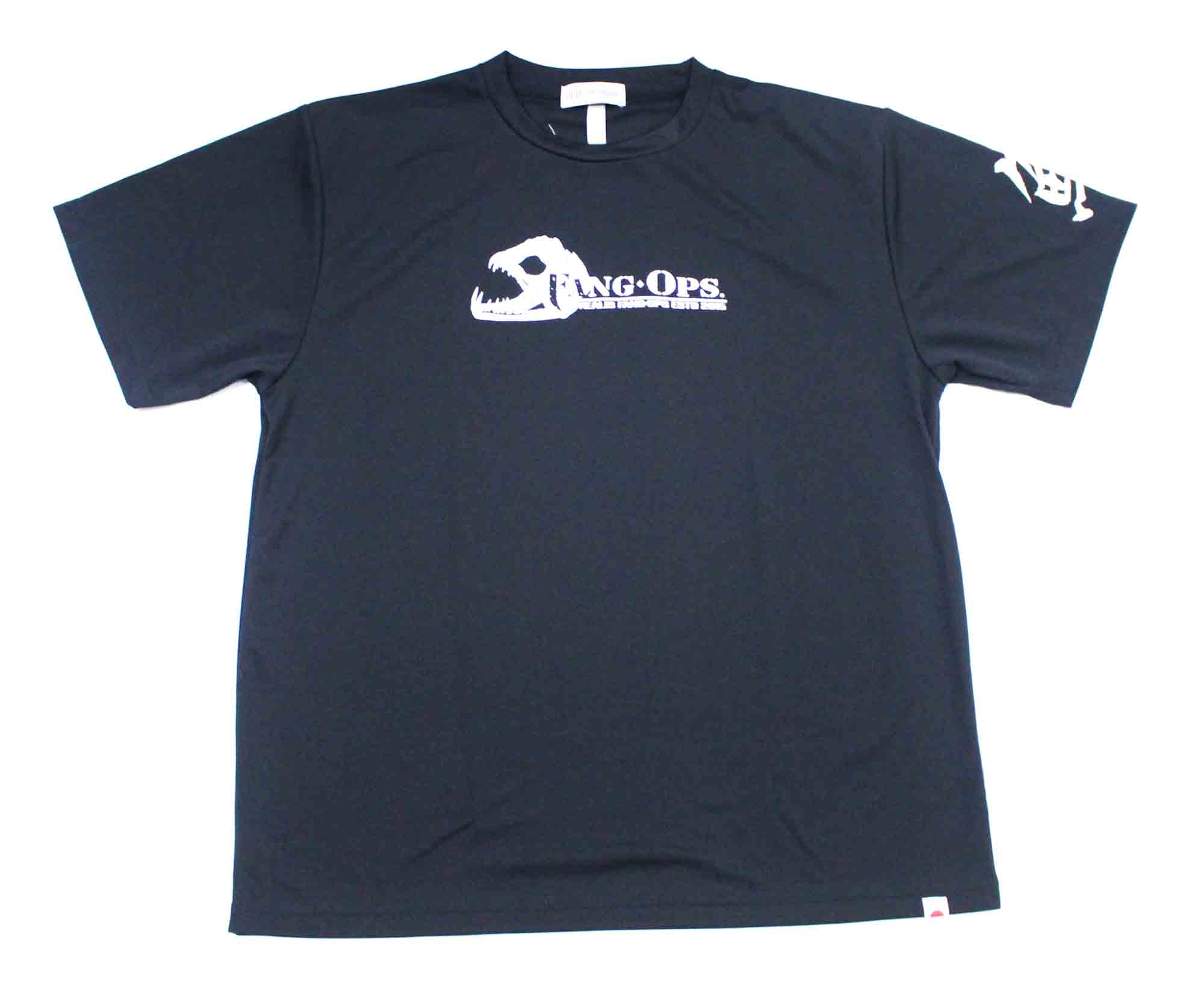 Duo T Shirt Fang Ops Beast Short Sleeve Dry Fit Black Size XXL (1744)