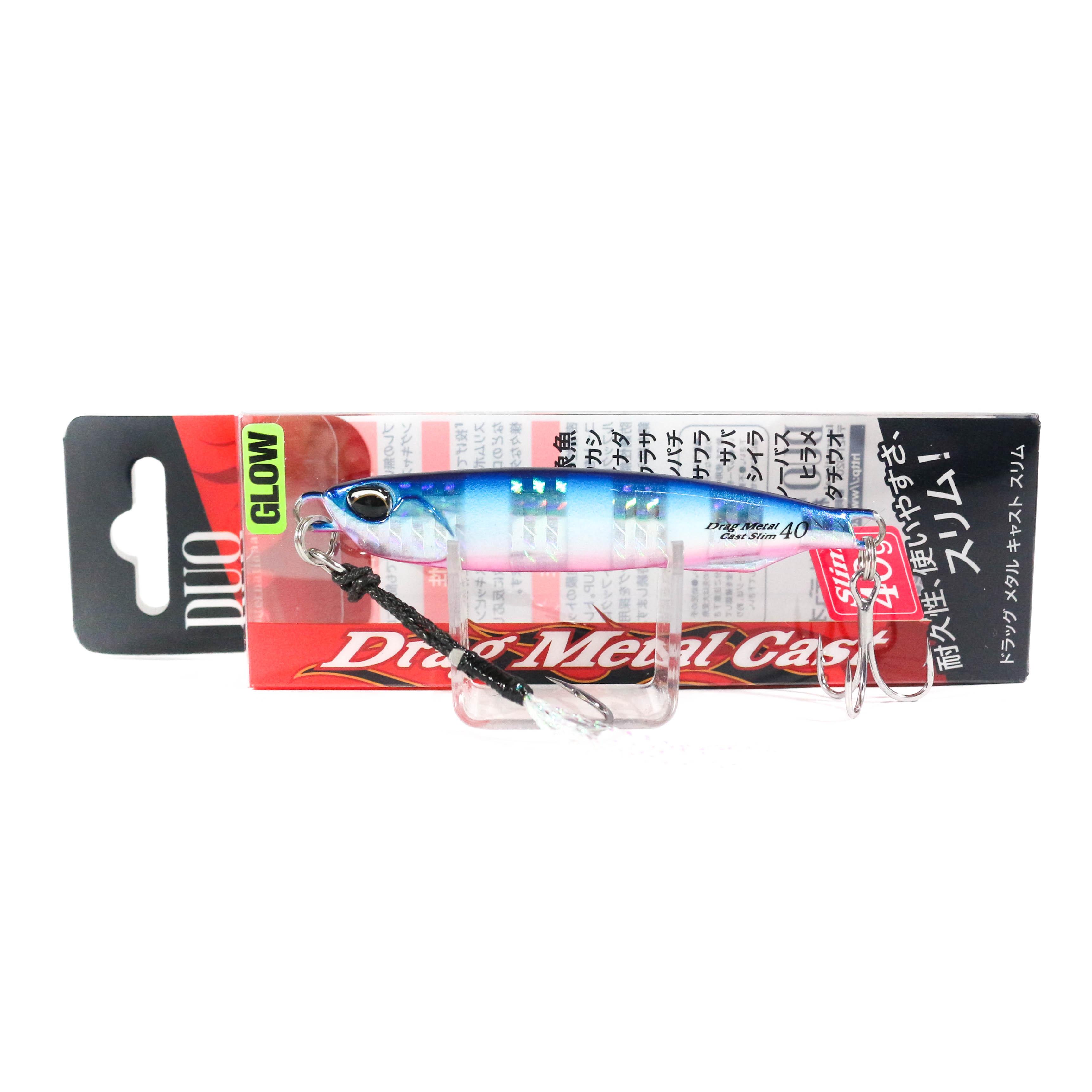 Duo Metal Jig Drag Metal Cast Slim 60 grams PCC0439 0009