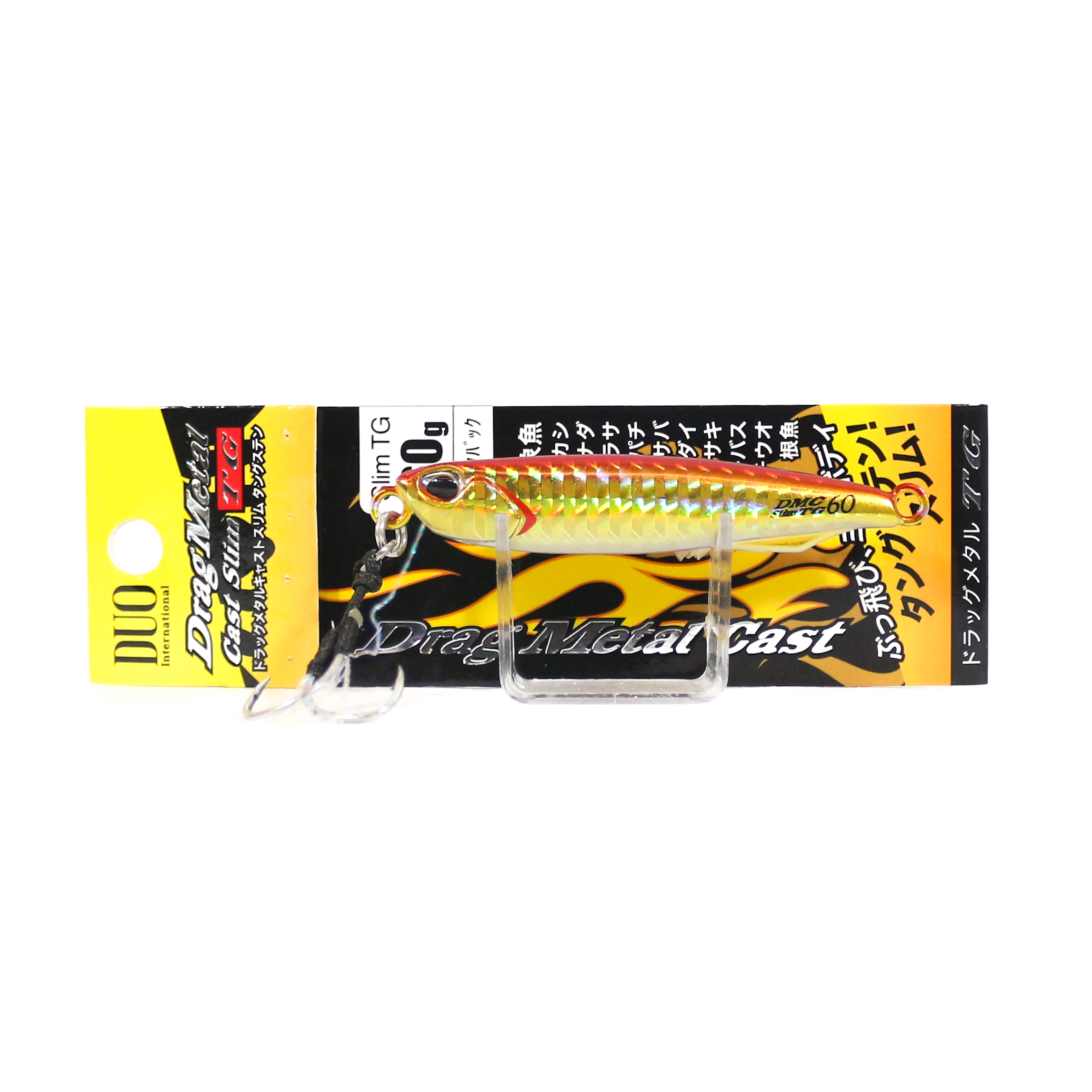 2646 Duo Metall Jig Drag Metall Cast Slim wolfram TG 60 Gramm PHA0026