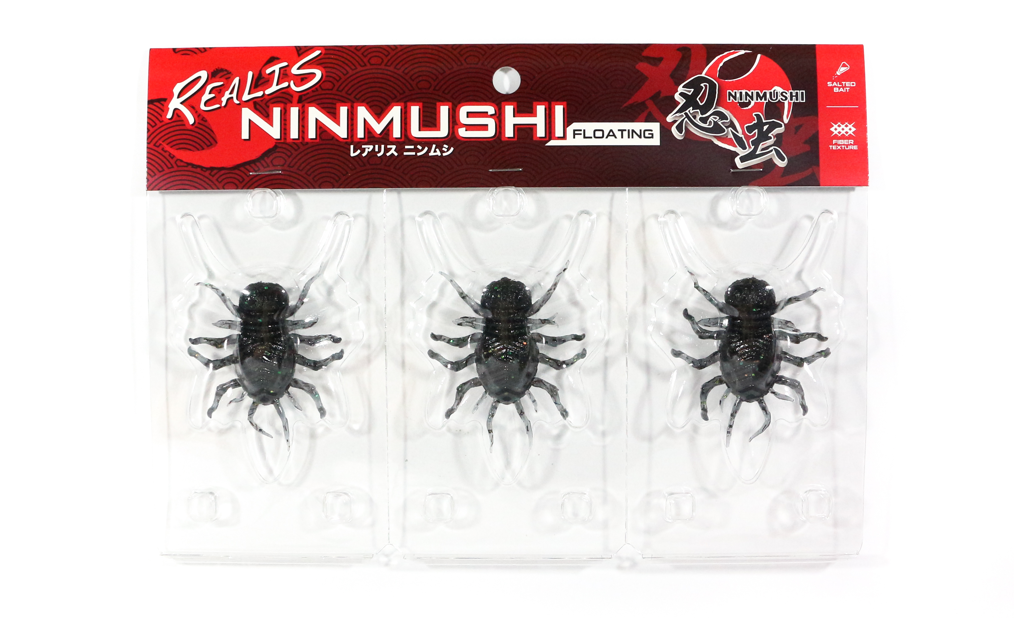 Duo Soft Lure Ninmushi Bug Floating Lure 3 piece pack F612 (1218)