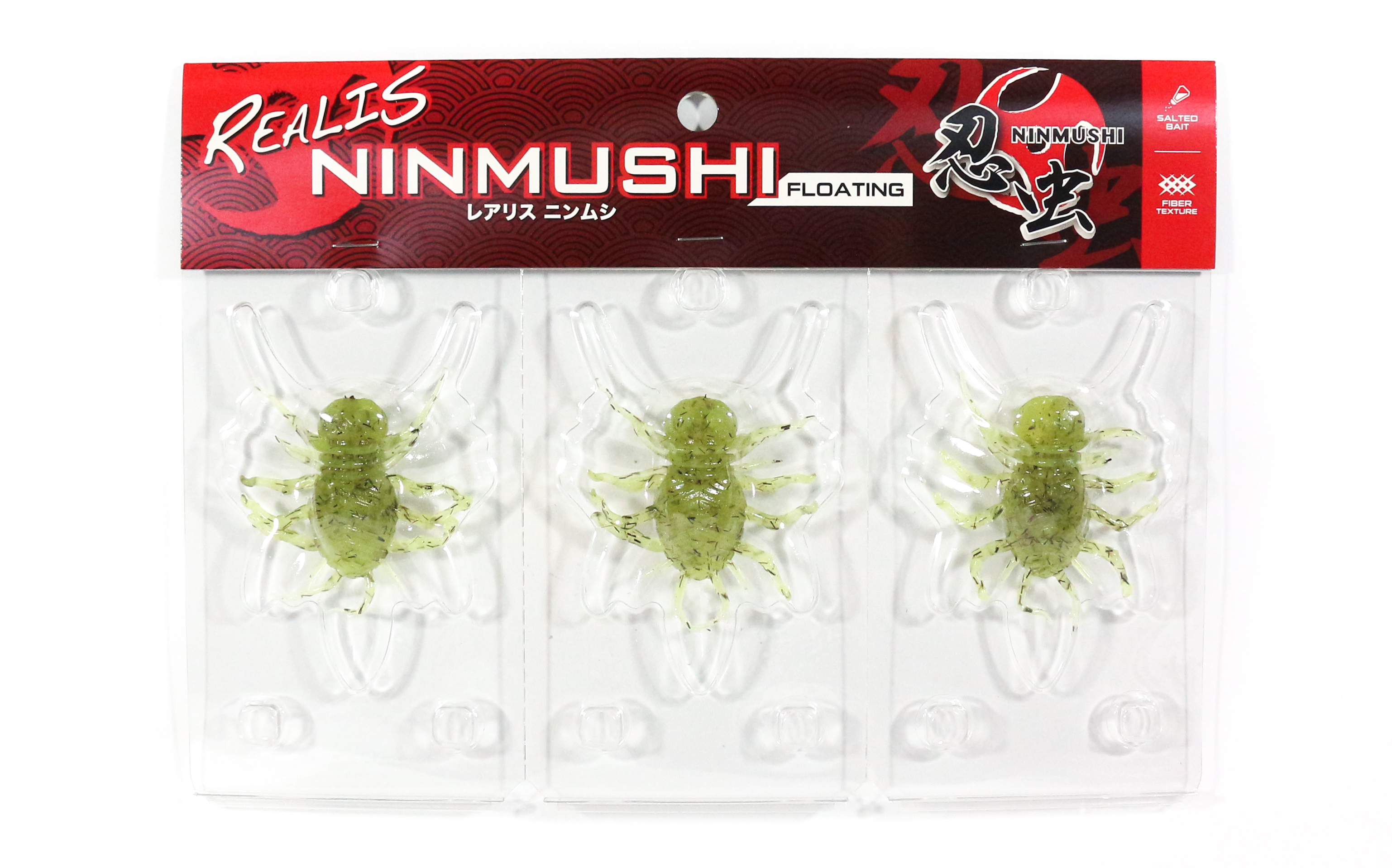 Duo Soft Lure Ninmushi Bug Floating Lure 3 piece pack F614 (6916)