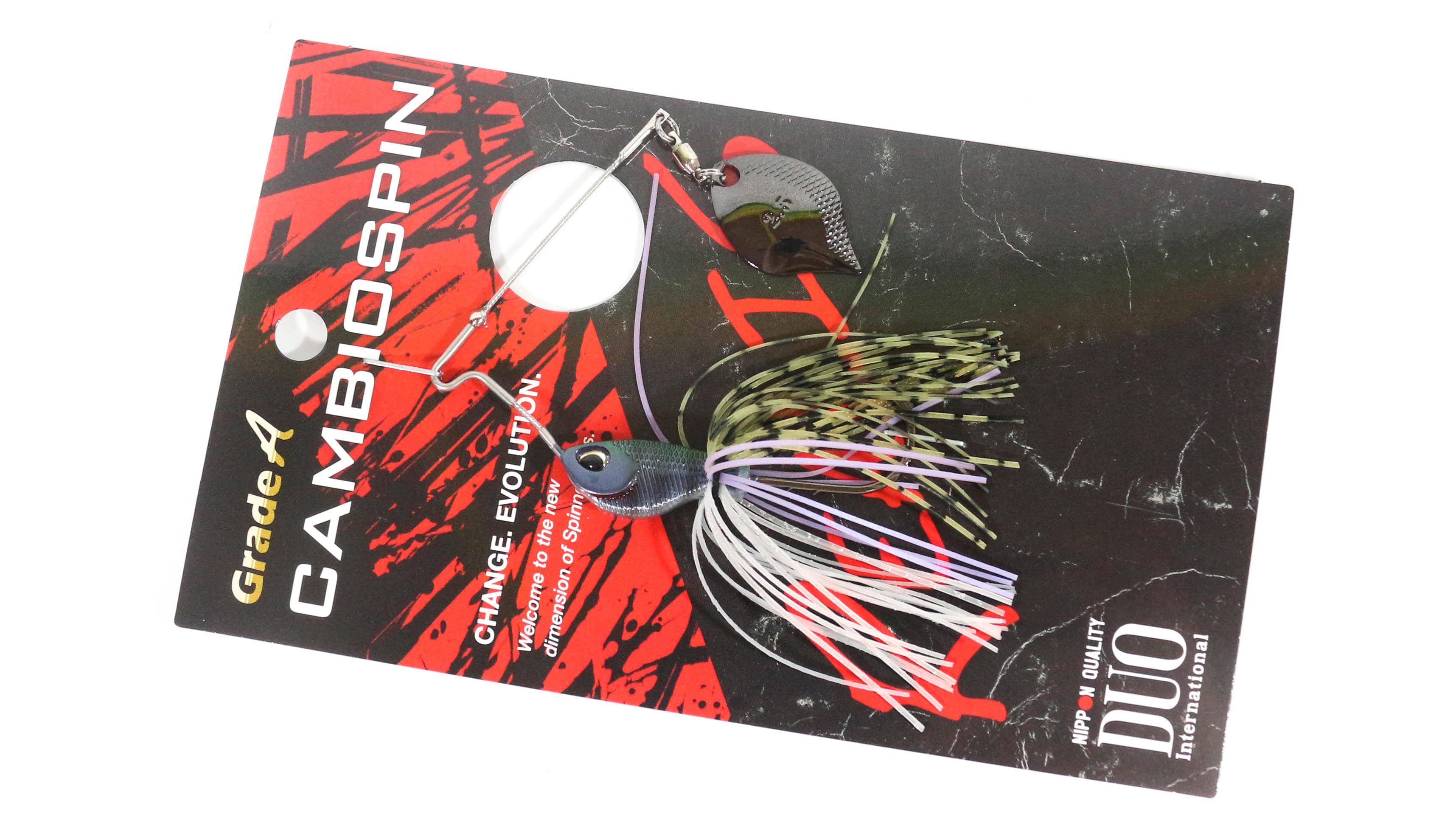 Sale Duo Realis Cambio Spin Spinnerbait Single Blade 1/4 oz J010 (9994)