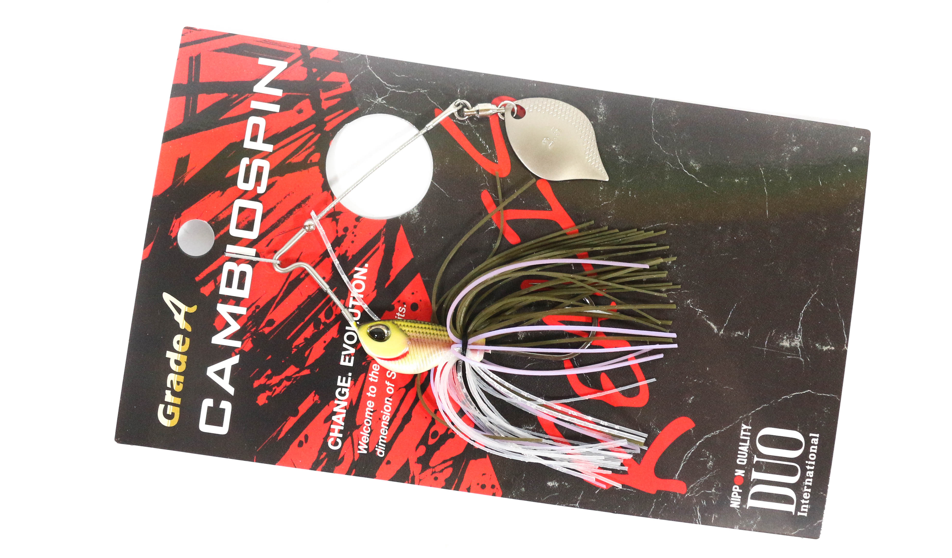 Duo Realis Cambio Spin Spinnerbait Single Blade 1/4 oz J014 (0037)