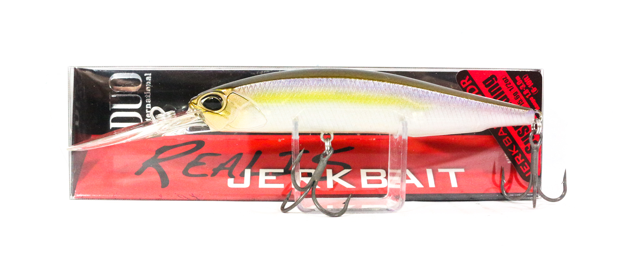 Duo Realis Jerkbait 100 DR Deep Diving Suspend Lure CCC3176 (0565)