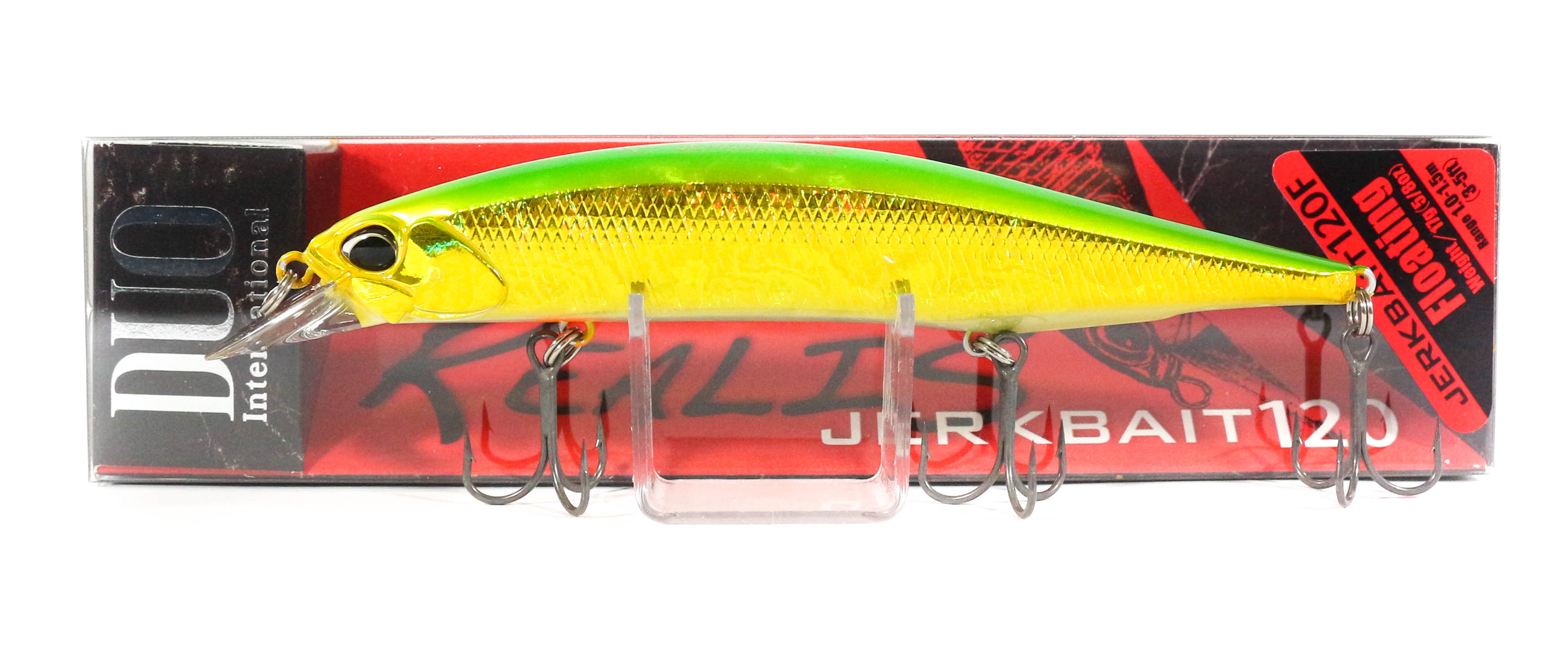 Duo Realis Jerkbait 120F Floating Lure ADA3185 (7753)