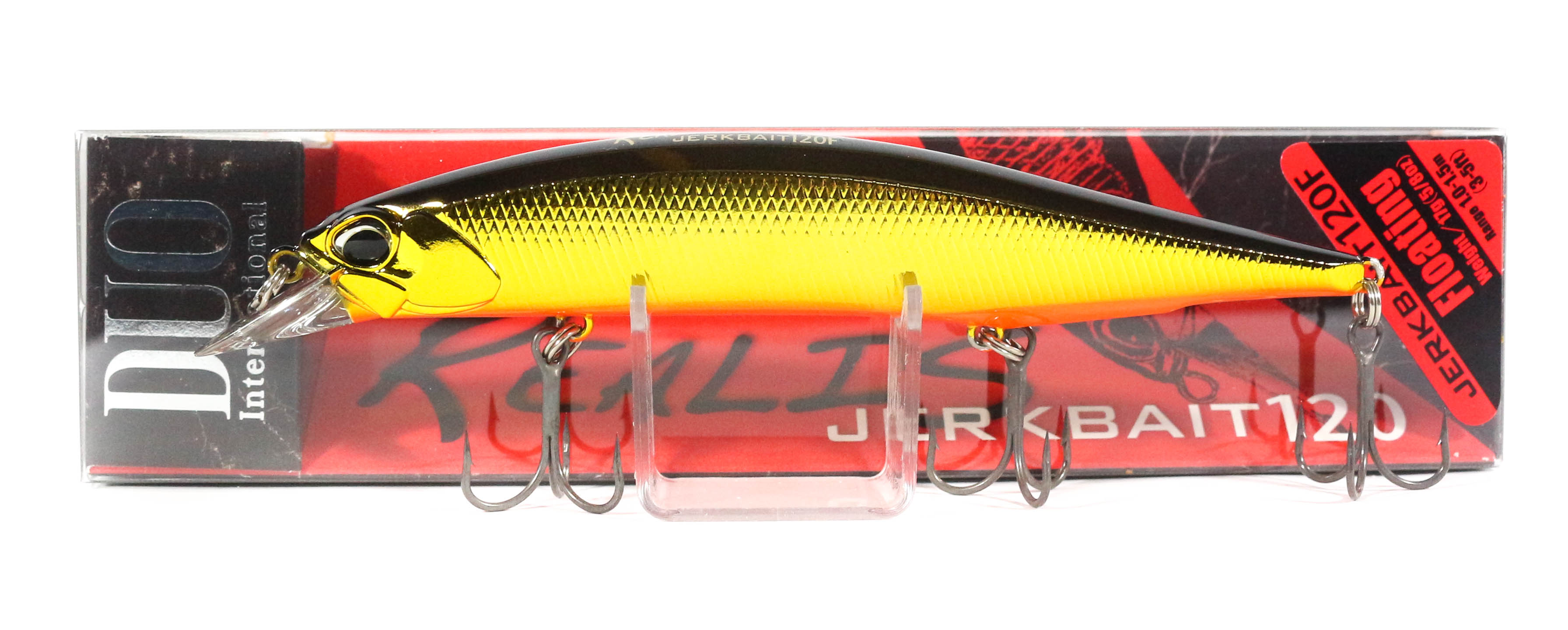Duo Realis Jerkbait 120F Floating Lure MCC4054 (7777)