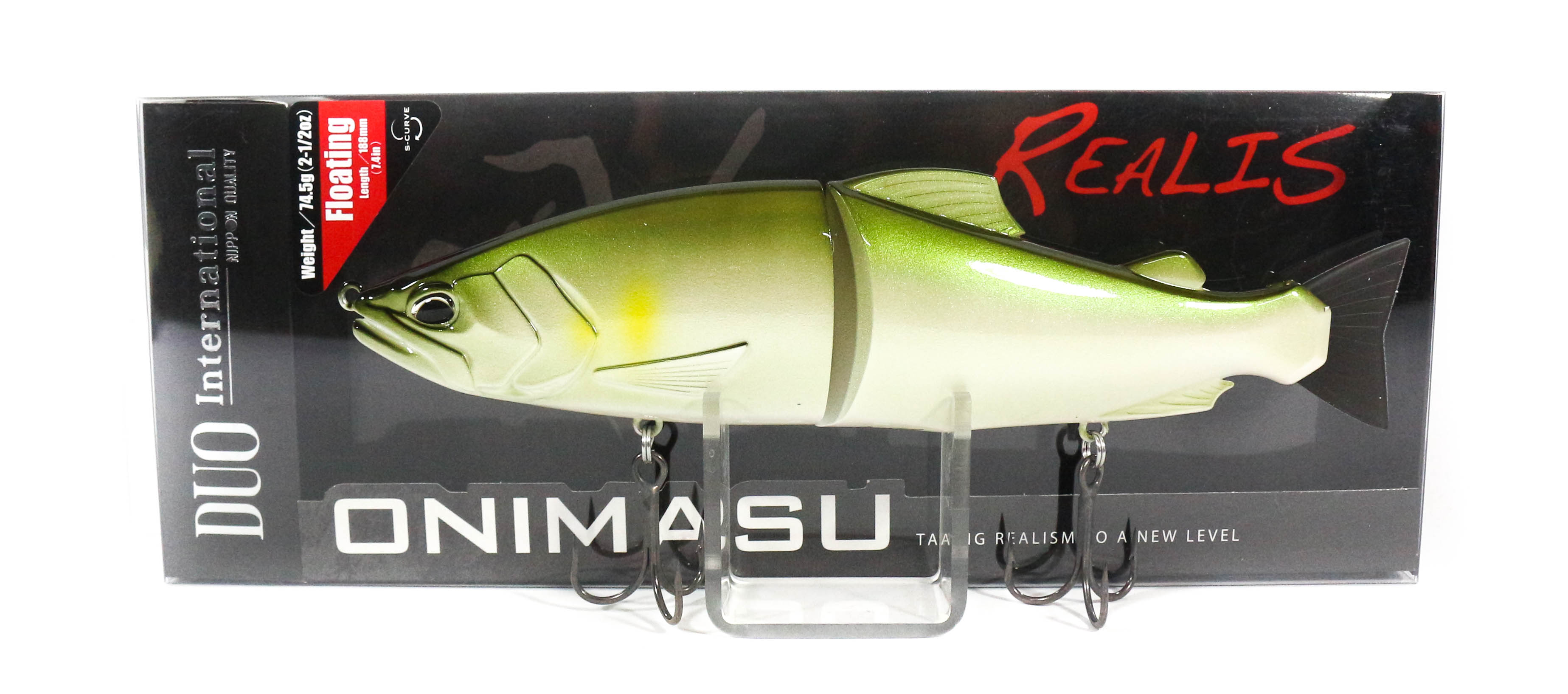 Duo Realis Onimasu 188F Swimbait Jointed Floating Lure ACC4010 (3069)