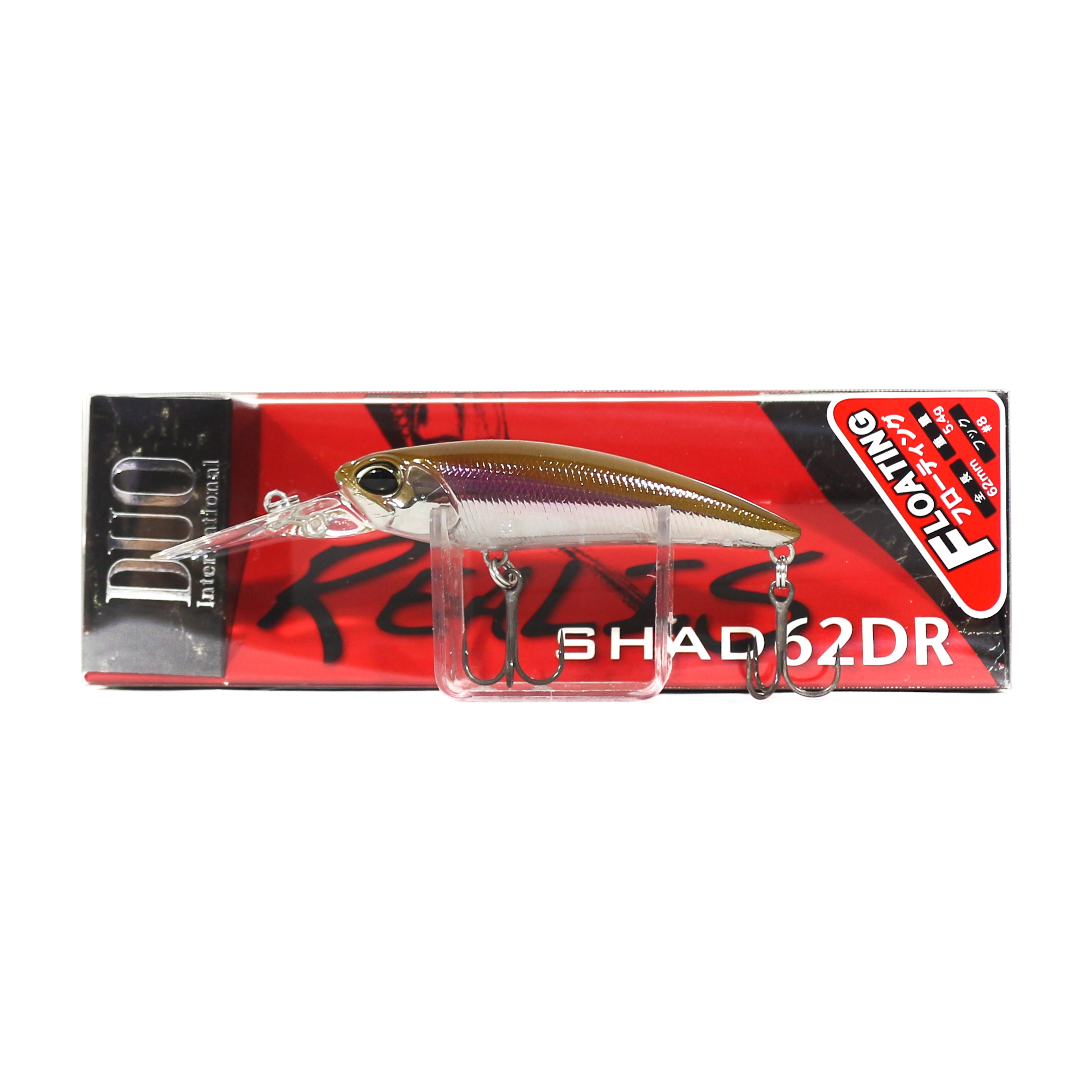 Duo Realis Shad 62 DR F Floating Lure DRA3013 (5819)