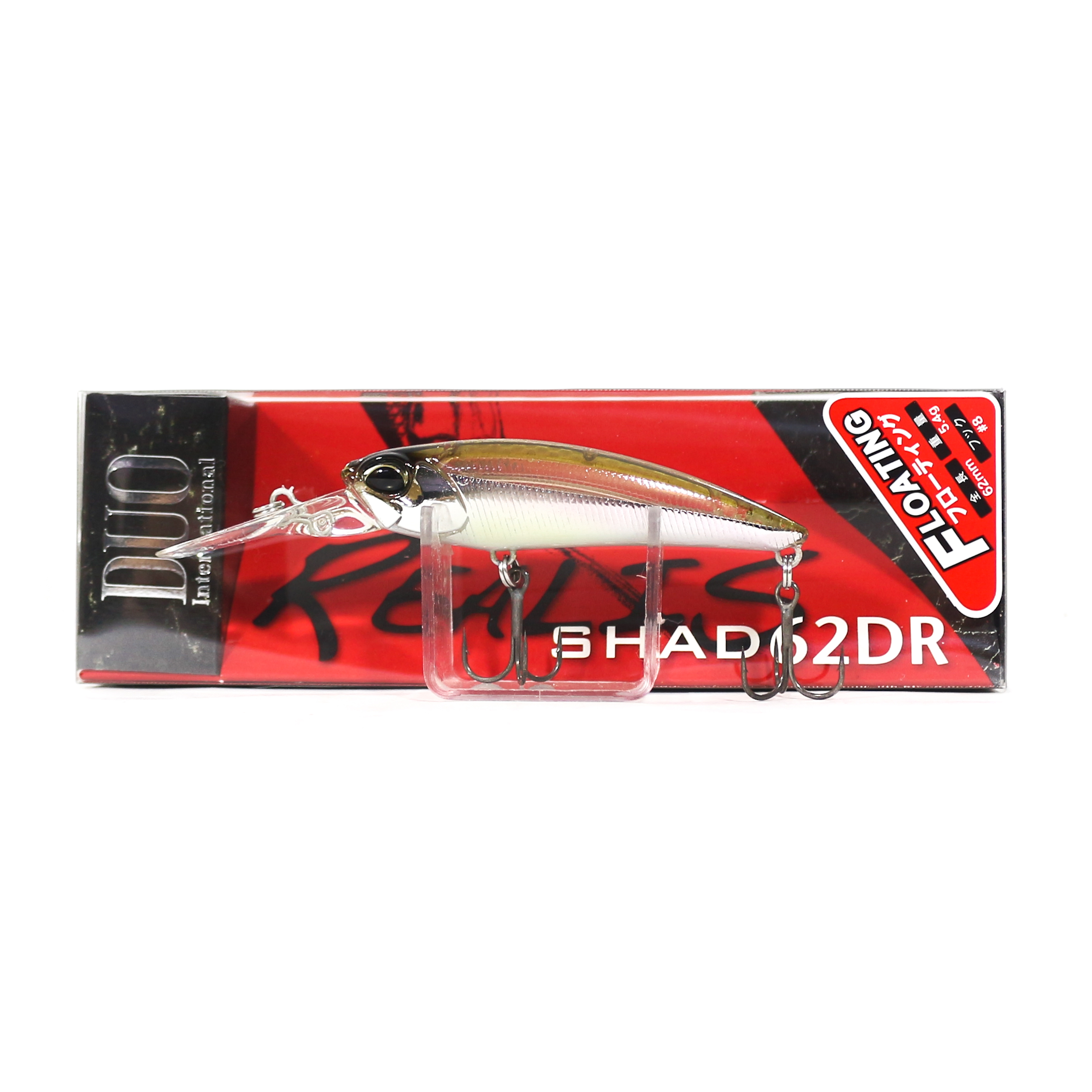 Duo Realis Shad 62 DR F Floating Lure DSH3061 (5826)