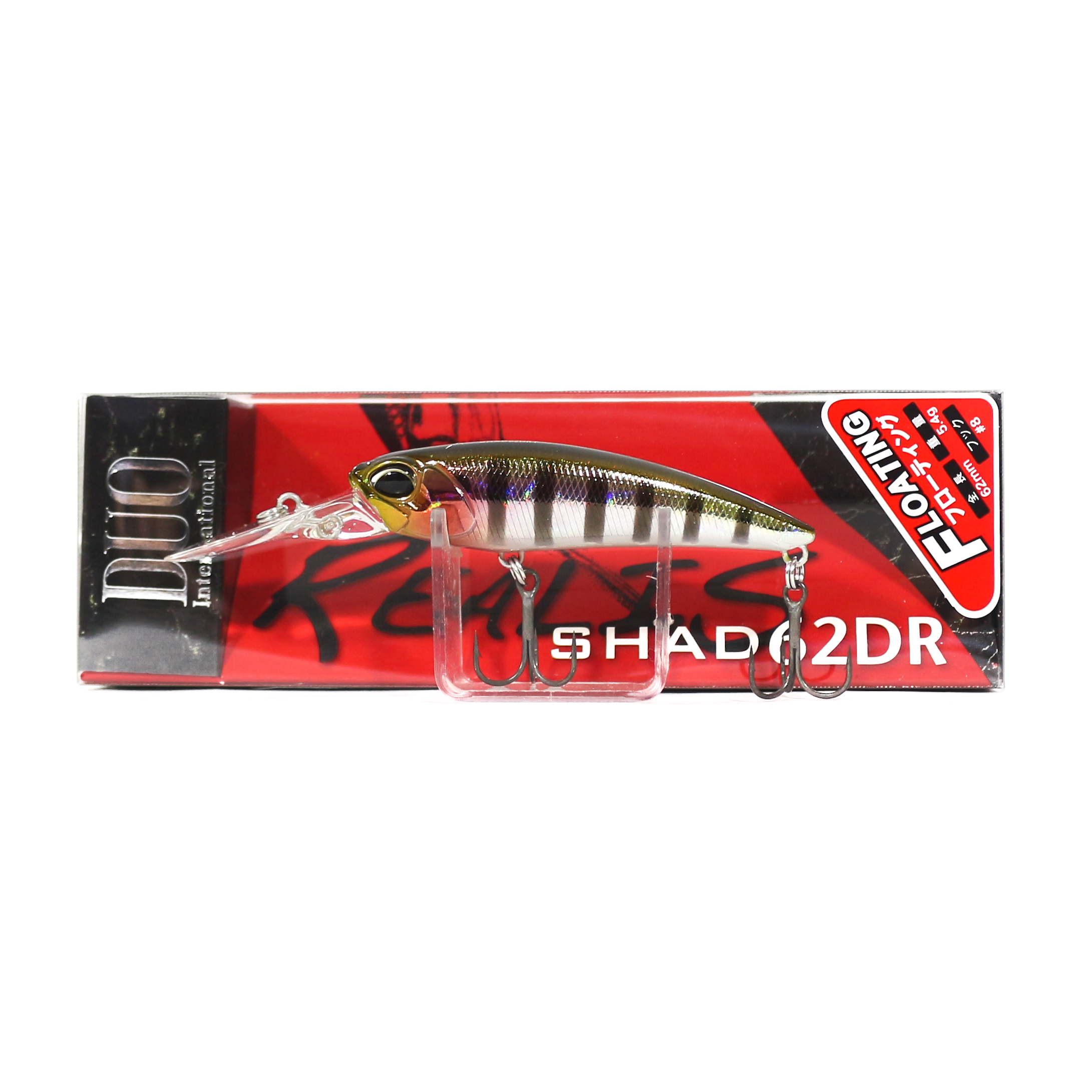 Duo Realis Shad 62 DR F Floating Lure ADA3058 (6625)