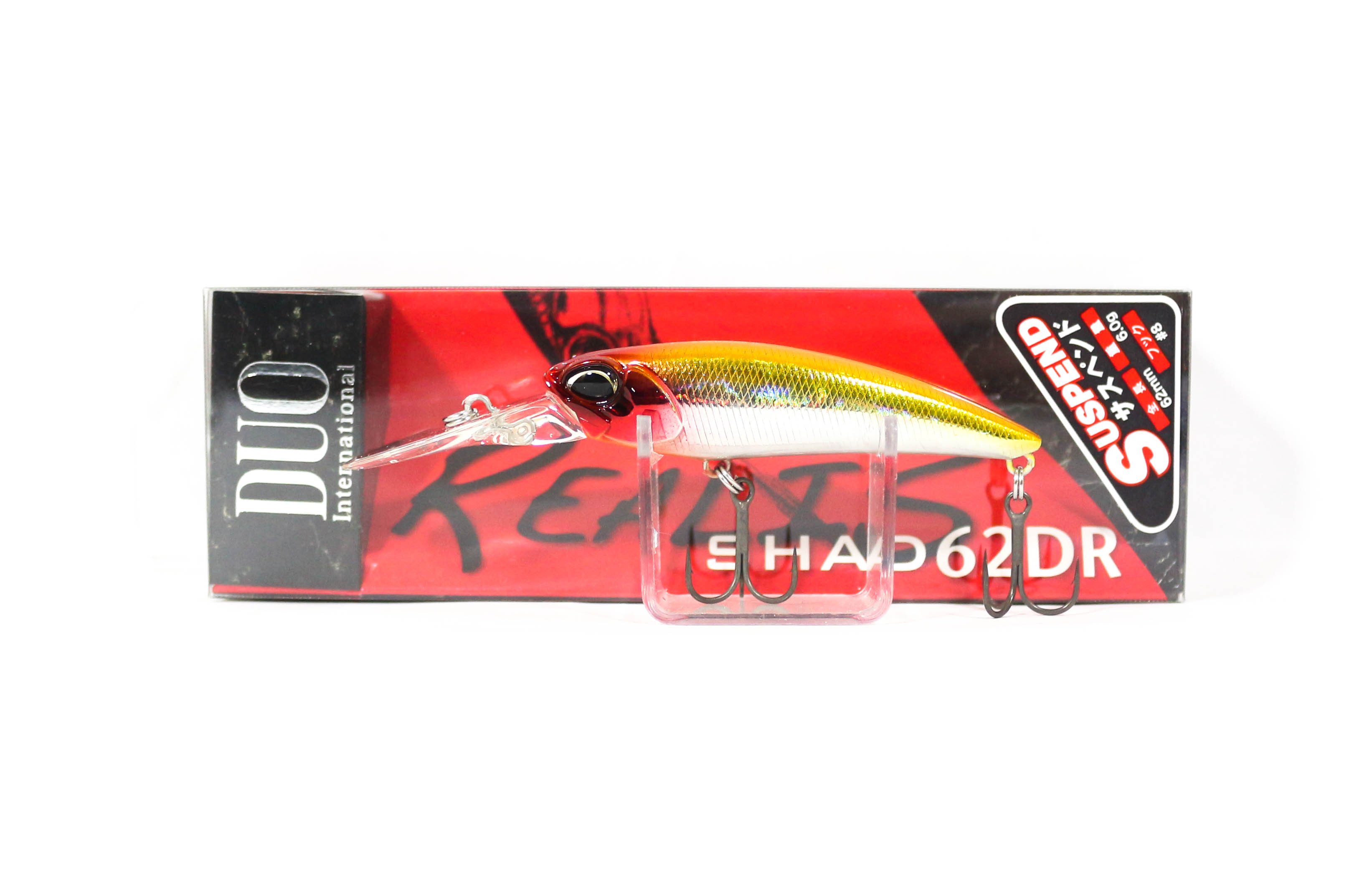 Duo Realis Shad 62 DR Suspend Lure ADA3033 (0145)