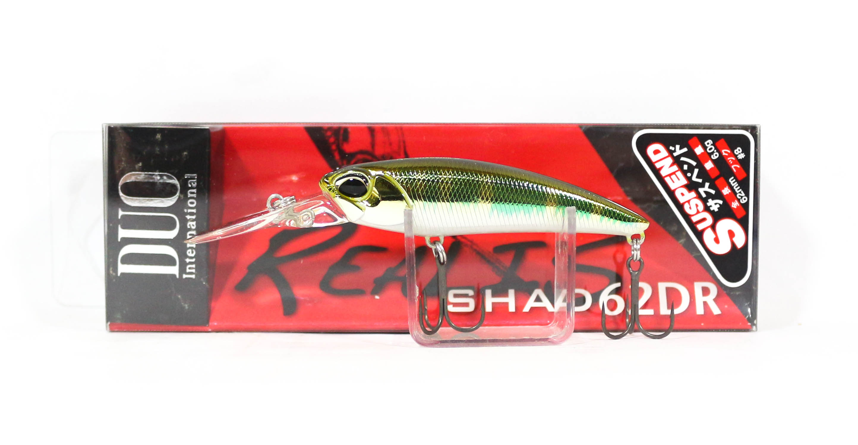 Duo Realis Shad 62 DR Suspend Lure ASA3082 (0190)