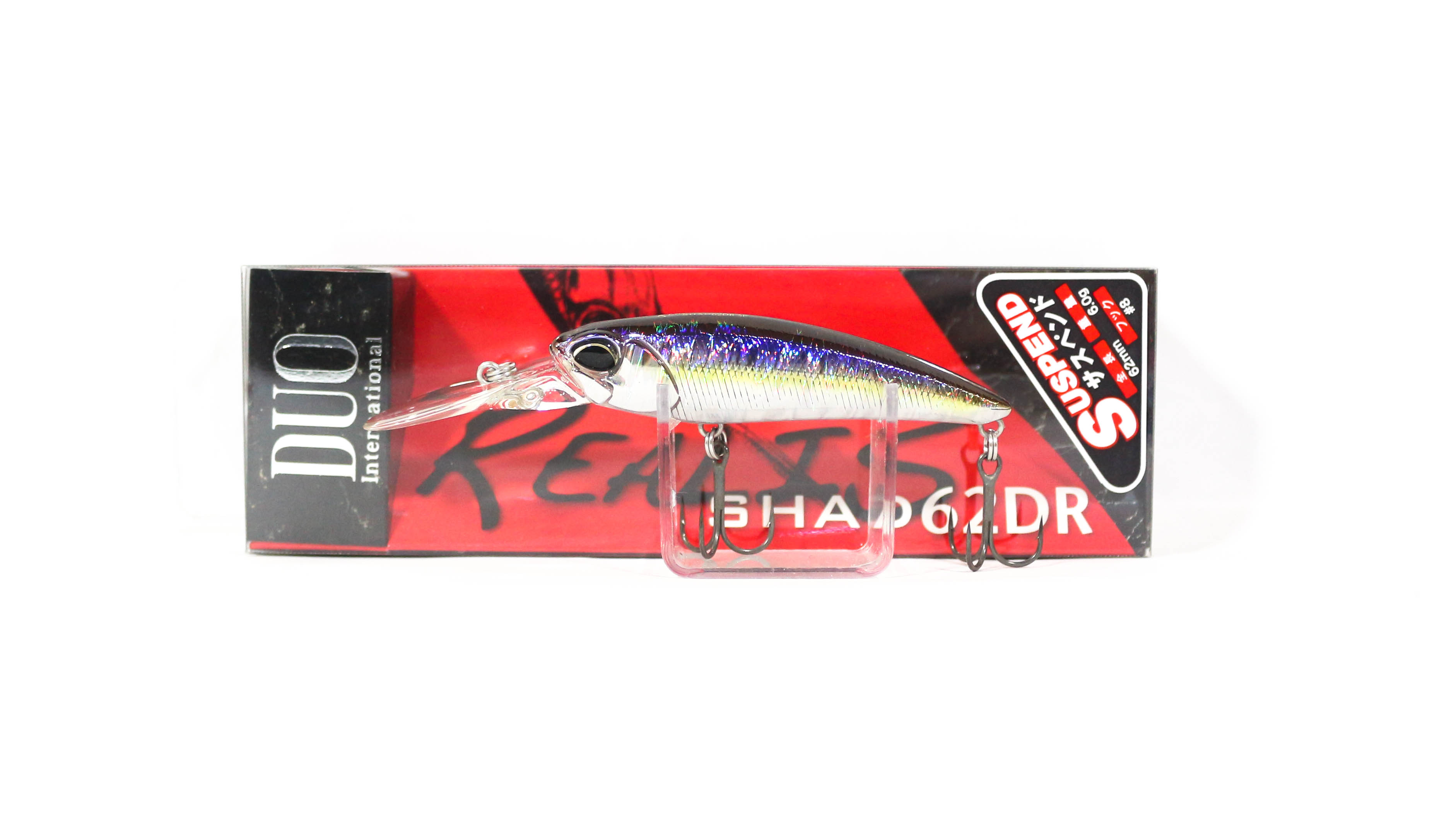 Duo Realis Shad 62 DR Suspend Lure DPA4009 (6773)