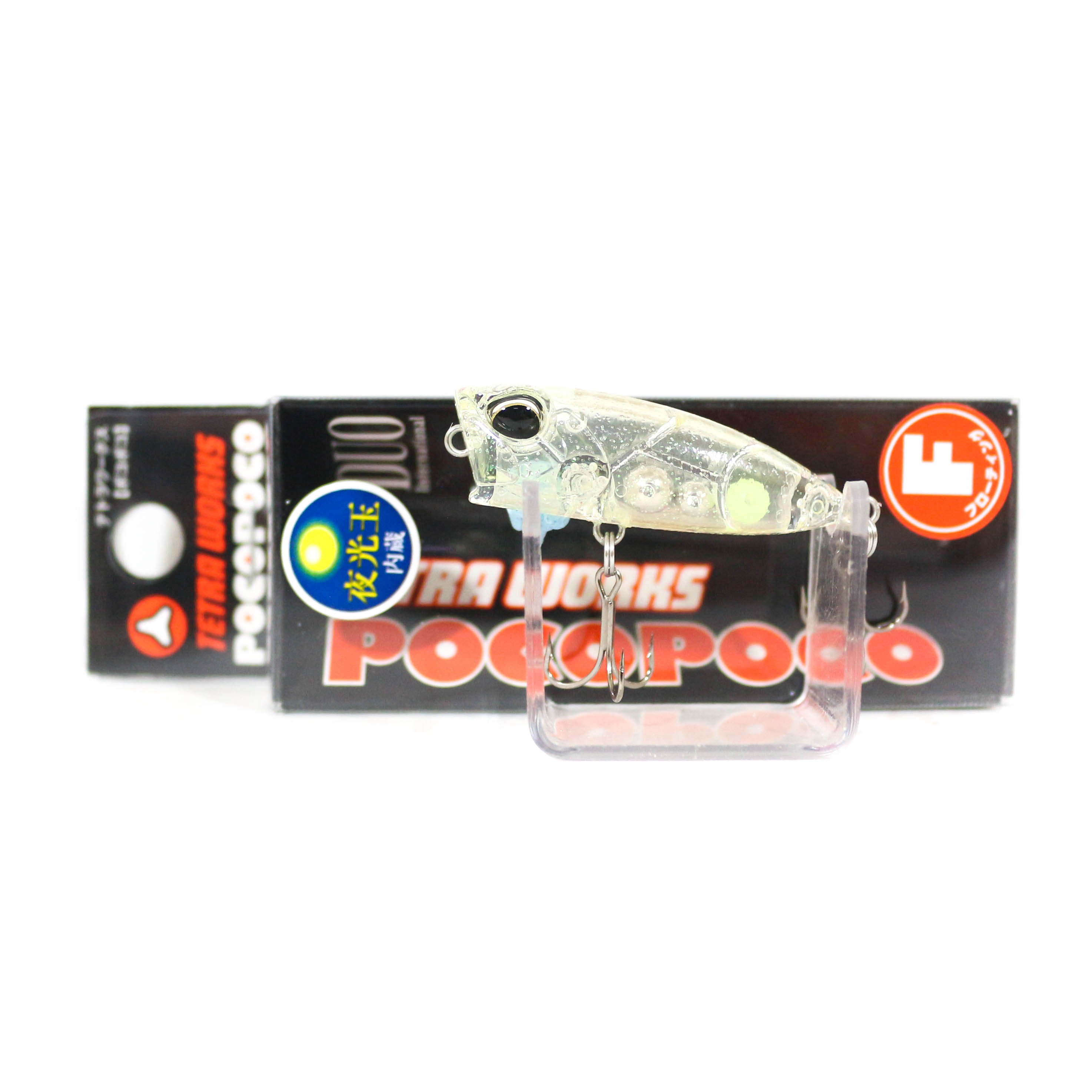 Duo Tetra Works Poco Poco Mini Popper 40 mm Floating Lure CCC0364 (3907)