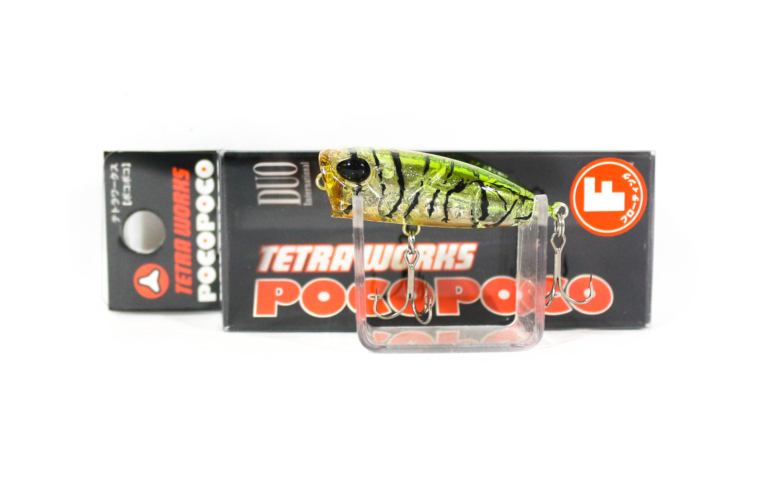 Duo Tetra Works Poco Poco Mini Popper 40 mm Floating Lure CCC0473 (4168)