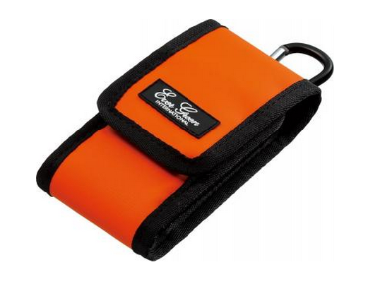 Sale Evergreen Mobile Case Pouch Compact Multi Purpose Orange (3305)
