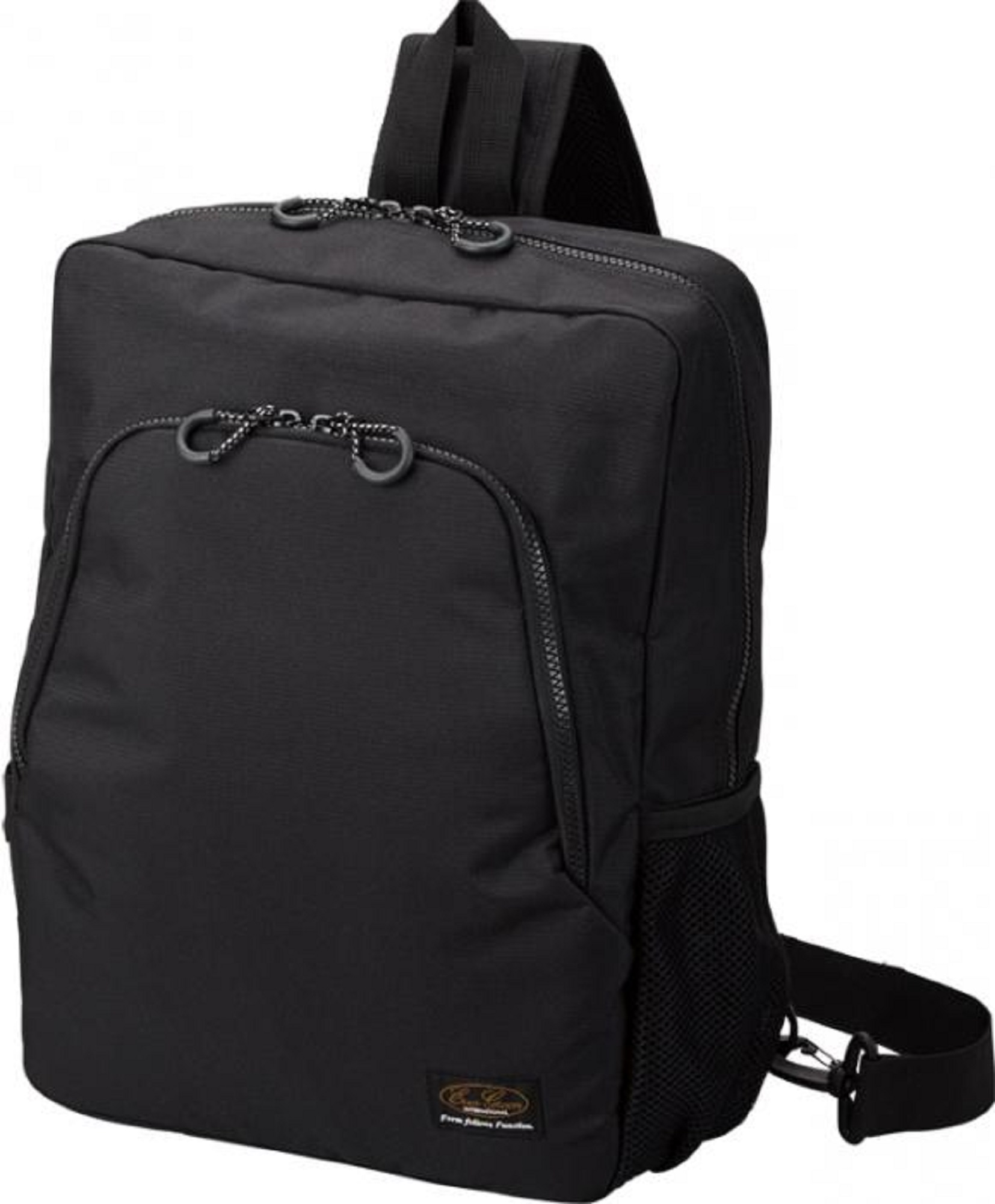 Sale Evergreen Tackle Bag One Shoulder Big Fishing Bag Black (6797)