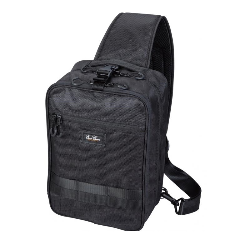 Sale Evergreen Tackle Bag Body Bag HD 230 x 340 x 130 mm Black (0909)