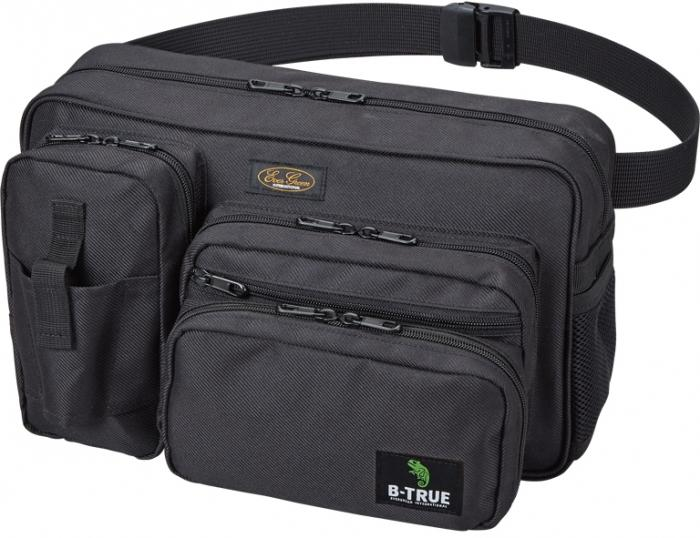 Evergreen Tackle Bag Hip Bag B-True Black (0985)