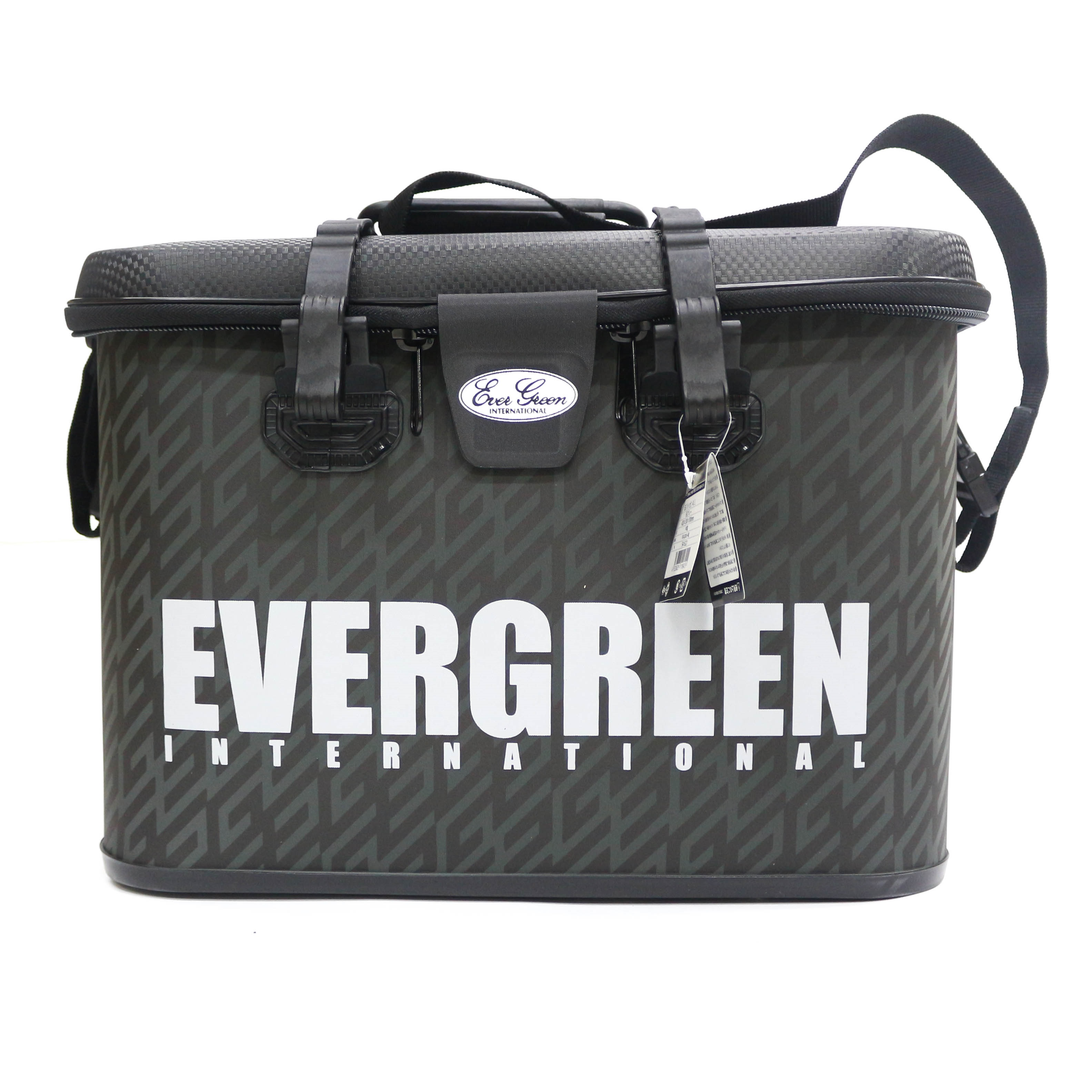 Evergreen Tackle Bag Bakkan Size L 420 x 300 x 300 mm Gray (8455)