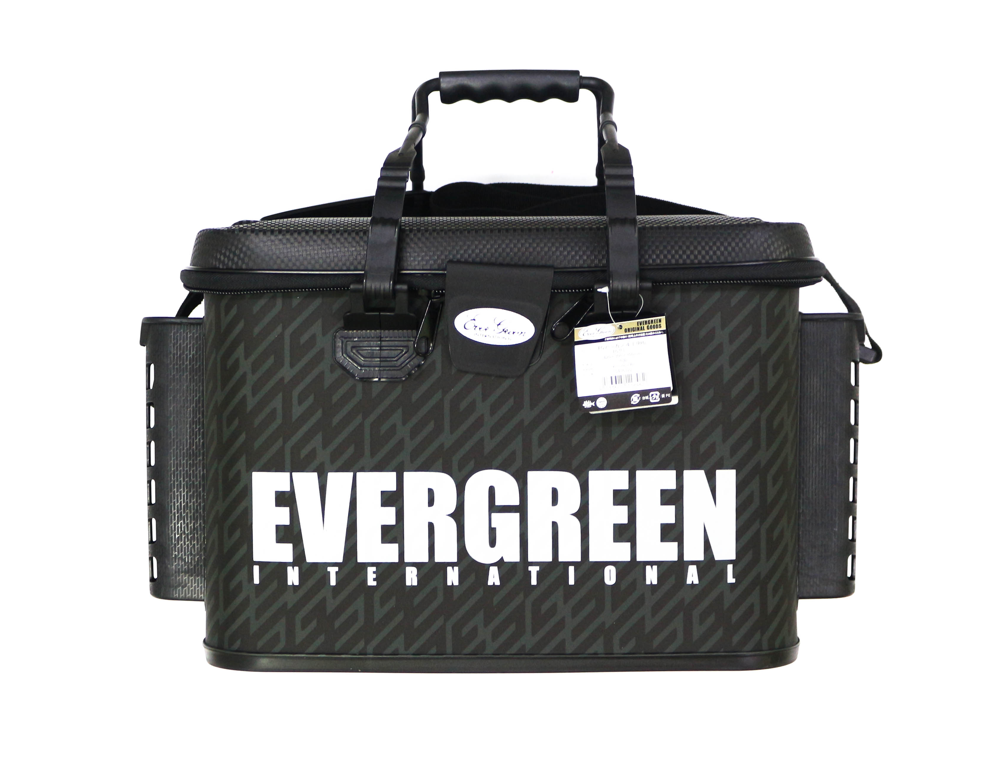 Evergreen Tackle Bag Bakkan Size L RH Rod Holder 420 x 300 x 300 mm Gray (8462)