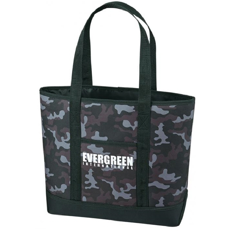 Evergreen Tackle Bag Standup Tote Fishing Bag Navy Camo (9995)