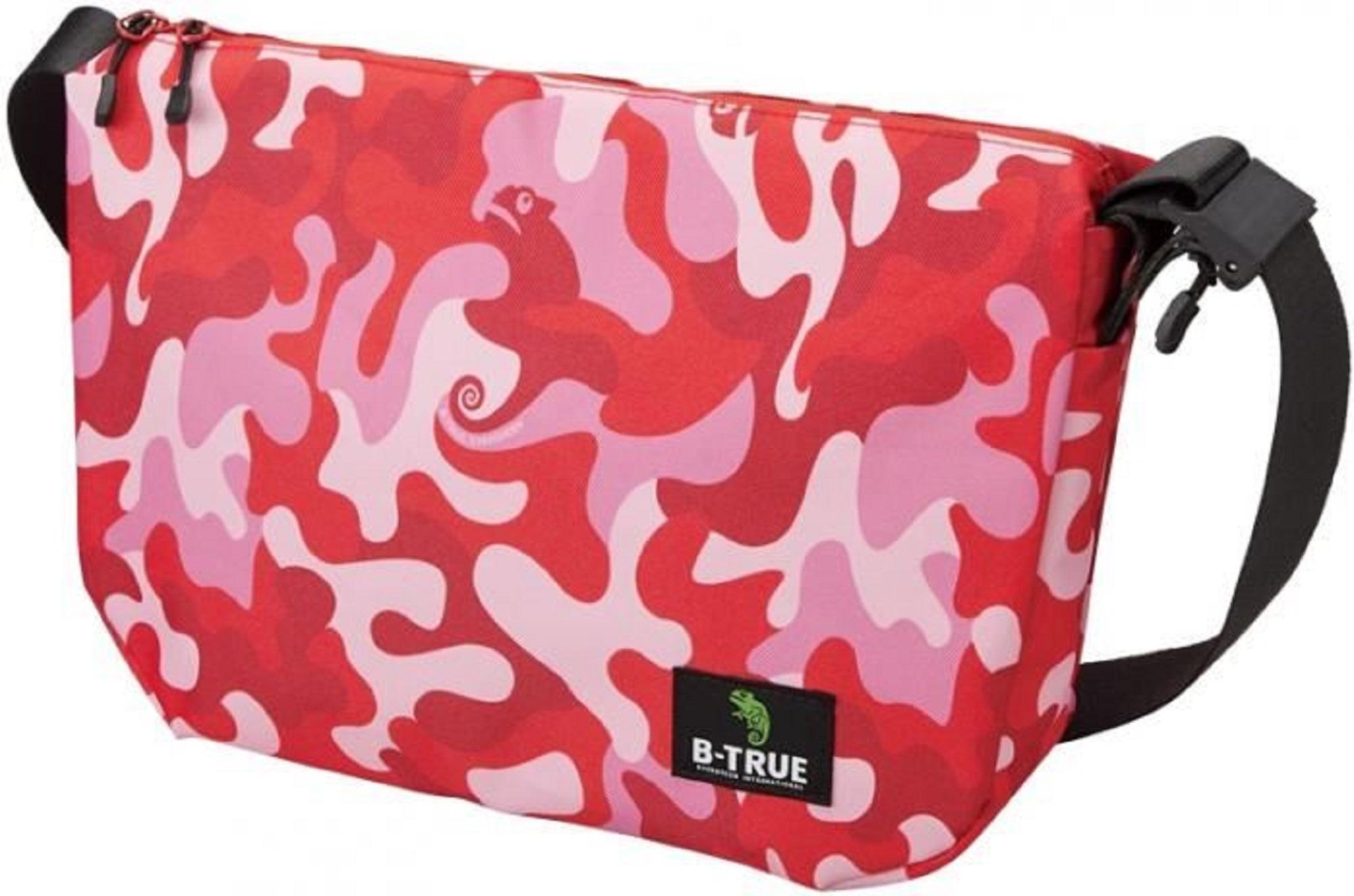 Evergreen Tackle Bag Shoulder B-True Size M Red Camou (0465)