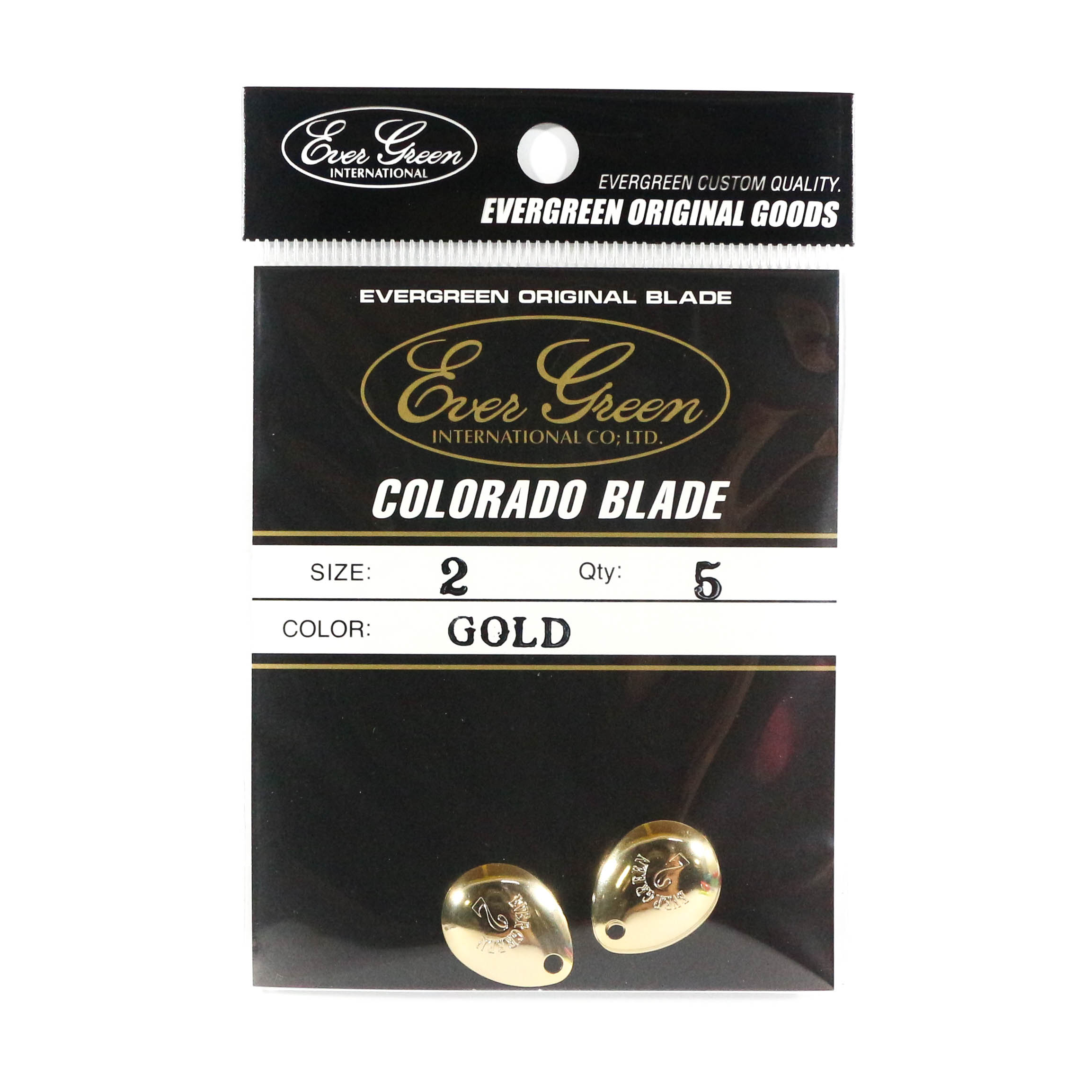 Evergreen Original Lure Colorado Blade Gold 2 (6127)