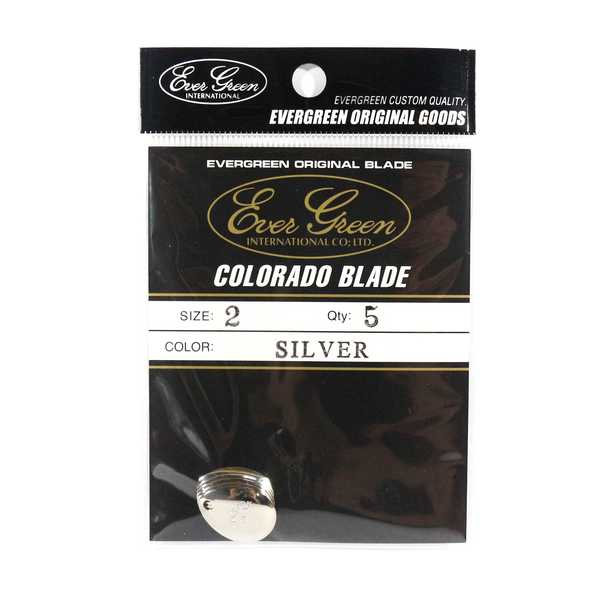 Evergreen Original Lure Colorado Blade Silver 2 (6189)