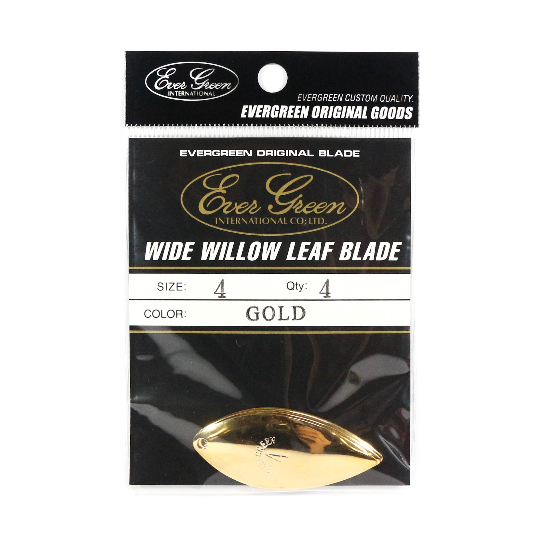 Evergreen Original Lure Wide Willow Blade Gold 4 (6271)