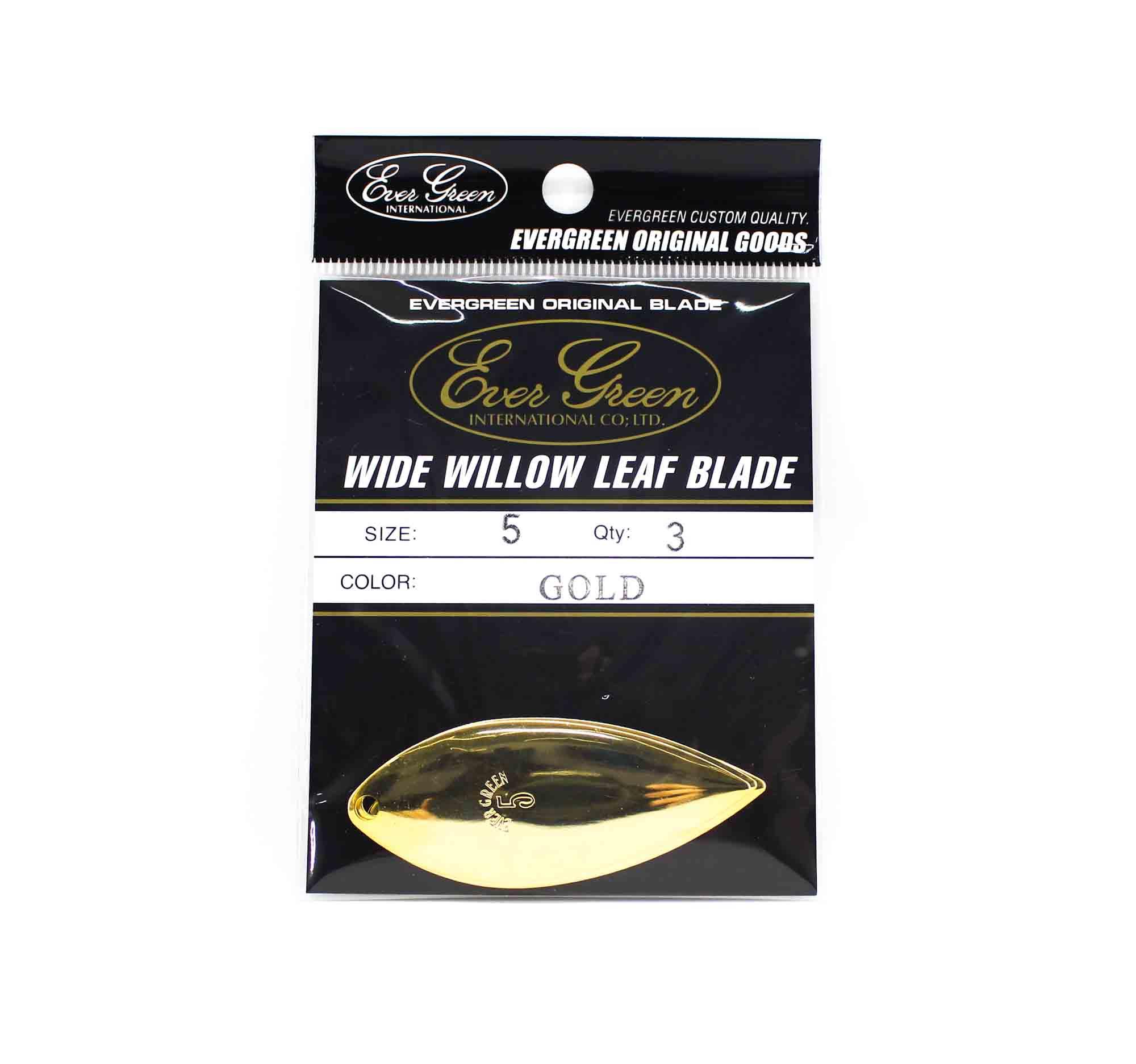 Evergreen Original Lure Wide Willow Blade Gold 5 (6295)