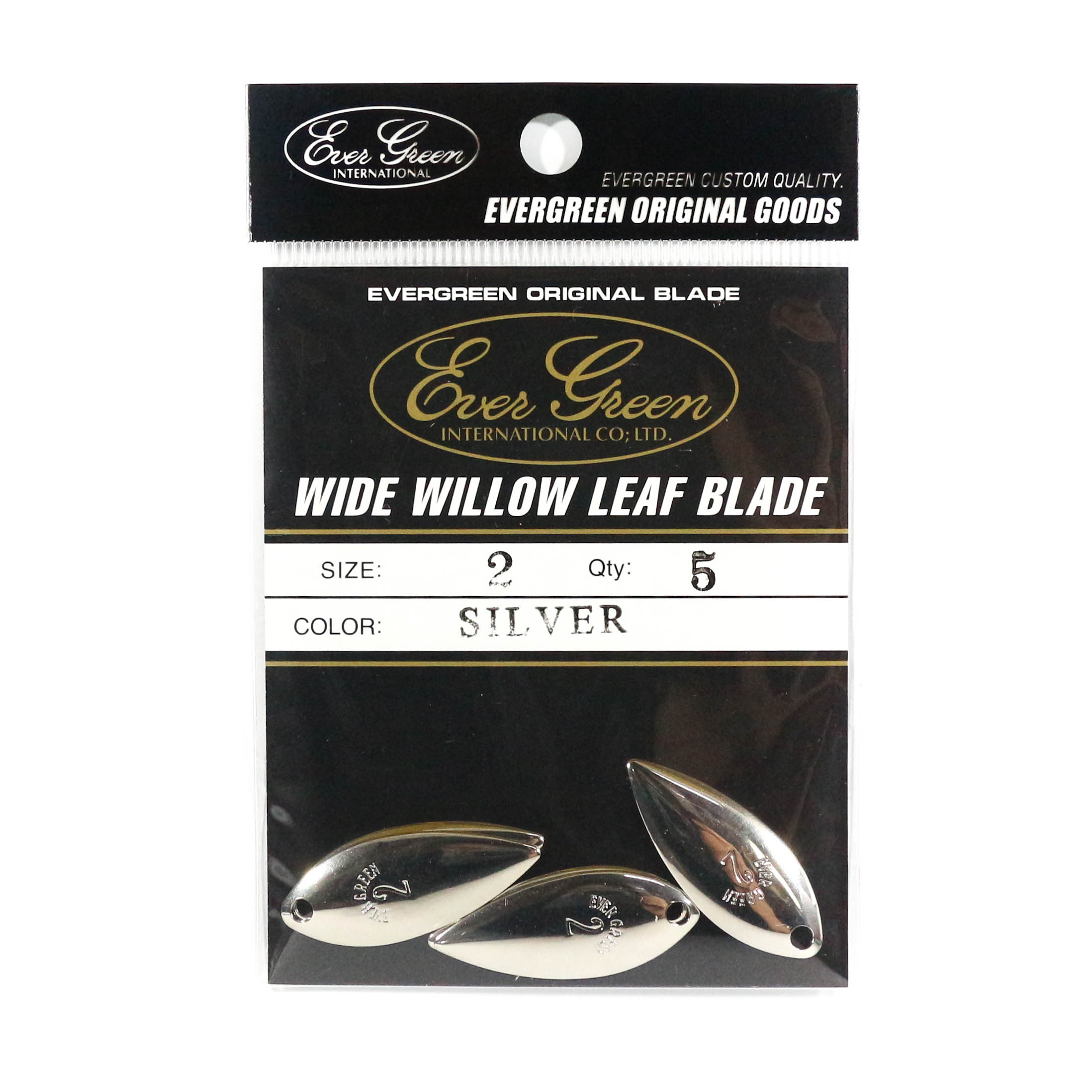 Evergreen Original Lure Wide Willow Blade Silver 2 (6318)