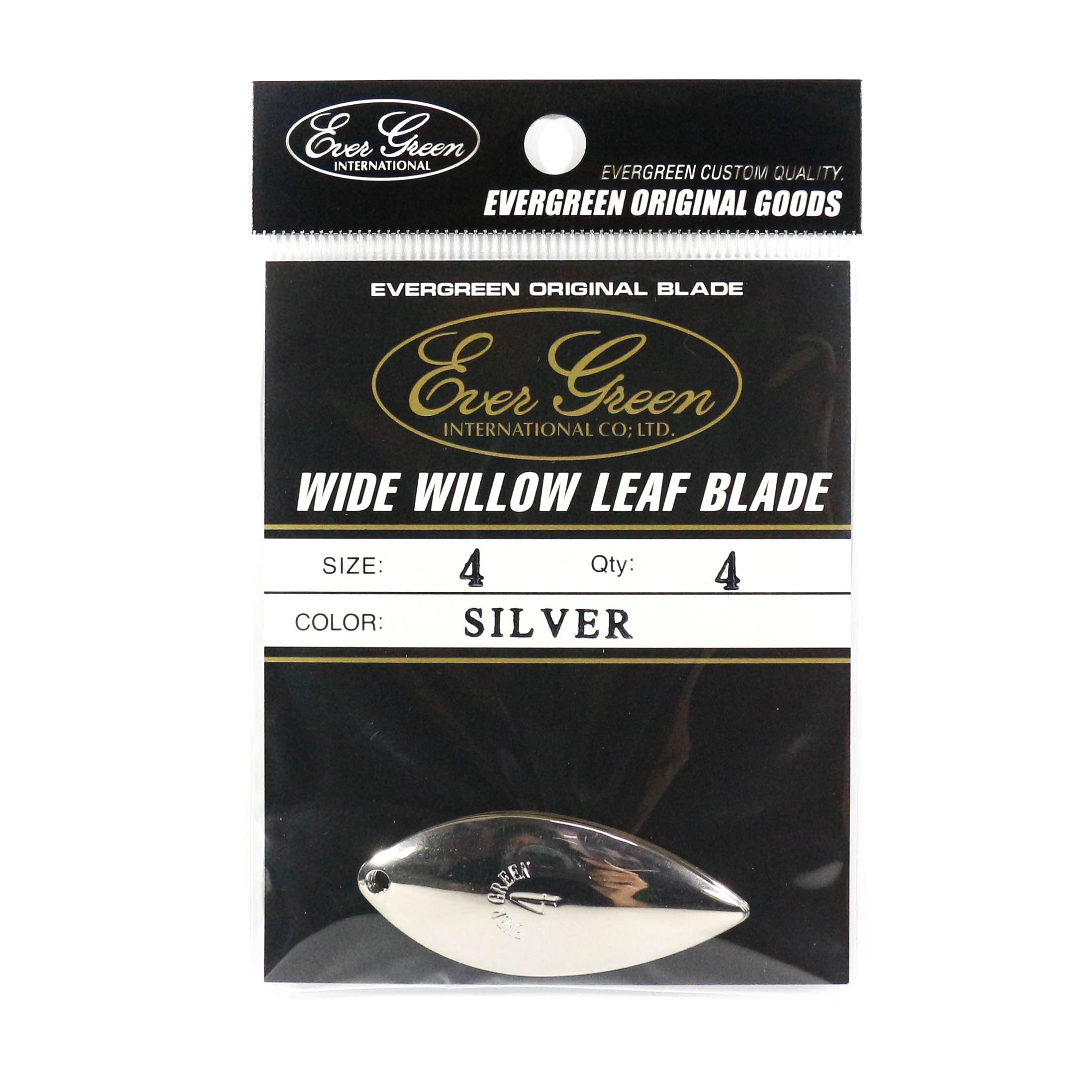 Evergreen Original Lure Wide Willow Blade Silver 4 (6349)