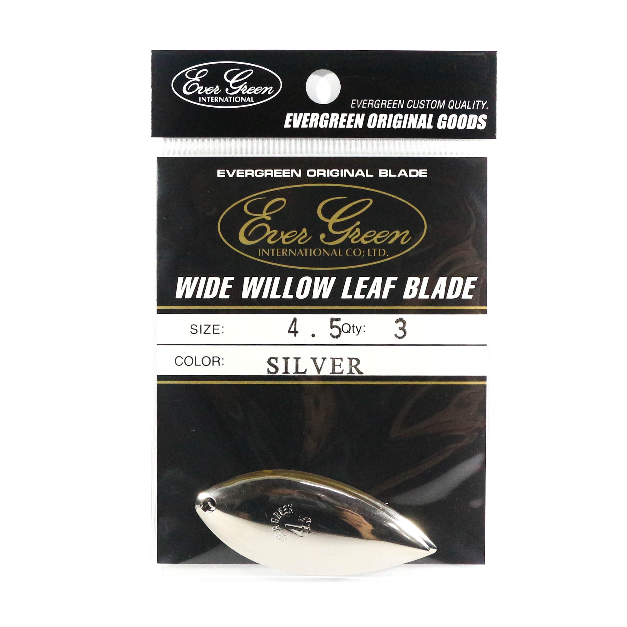 Evergreen Original Lure Wide Willow Blade Silver 4.5 (6356)