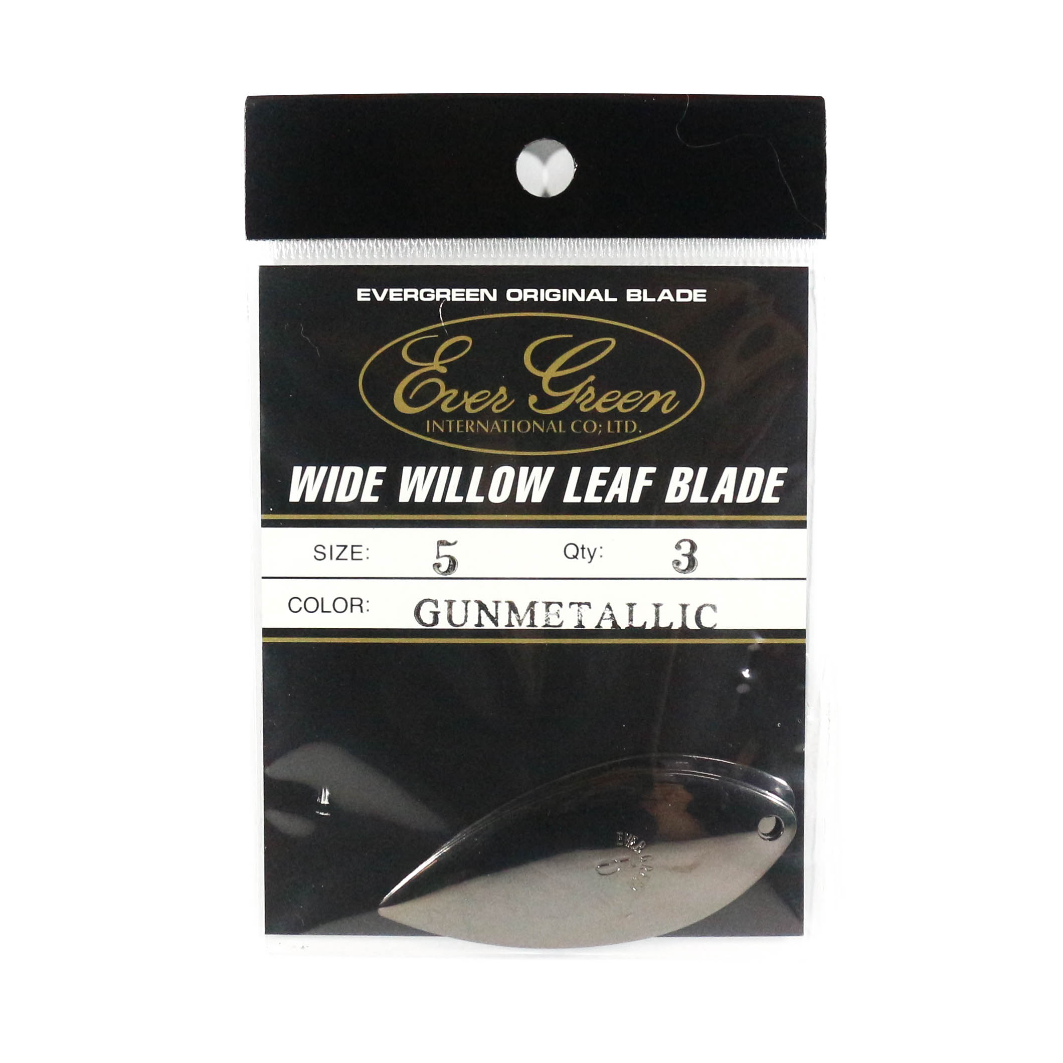 Evergreen Original Lure Wide Willow Blade Gunmetal 5 (3187)