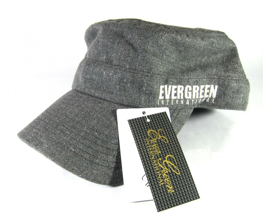 Evergreen Cap Work Cap Original Japan Free Size Gray (7944)