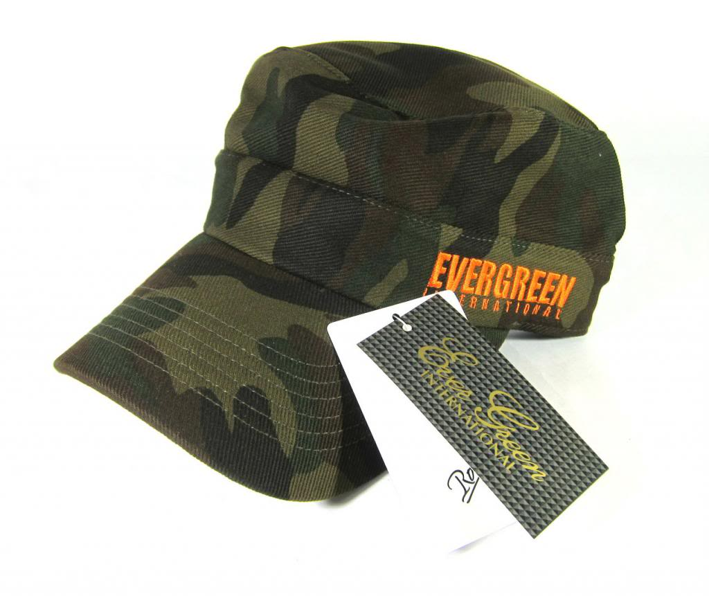 Evergreen Cap Work Cap Original Japan Free Size Camou (1590)