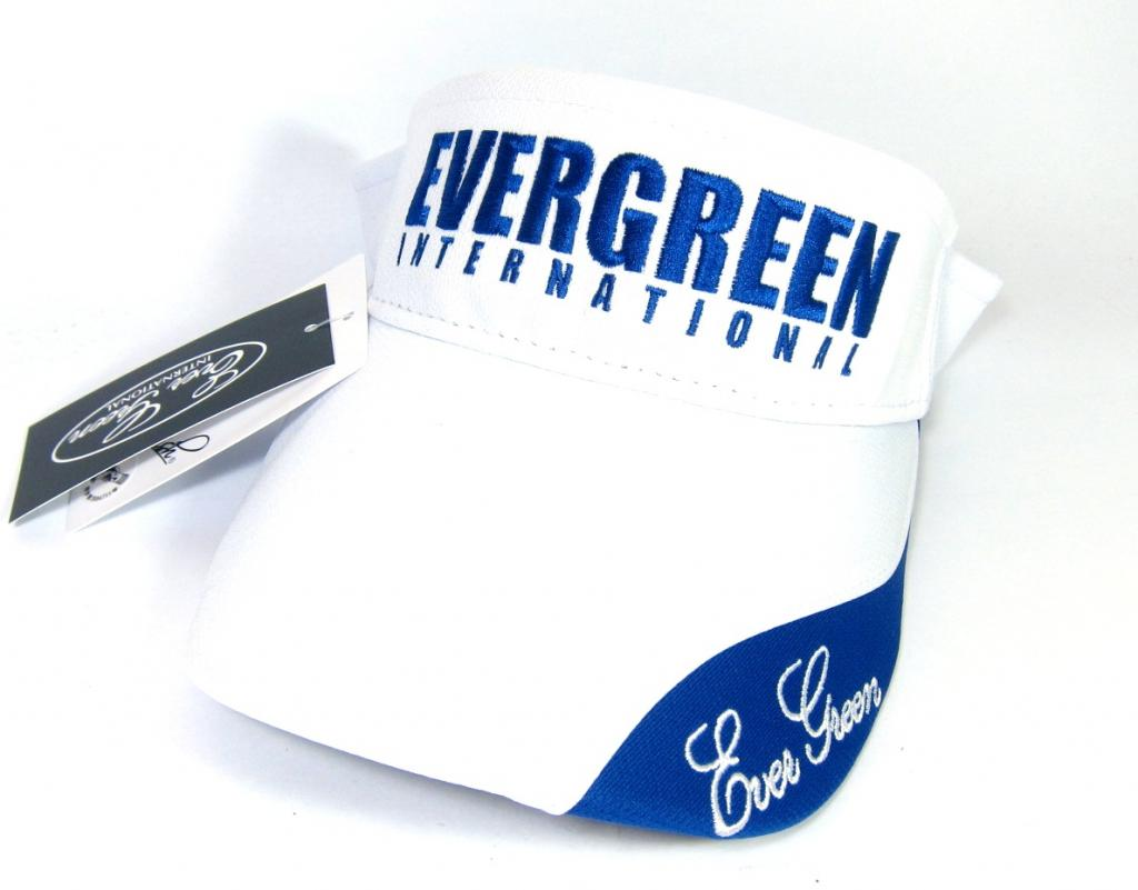 Evergreen Cap Sun Visor Type 2 Japan Free Size White (7783)