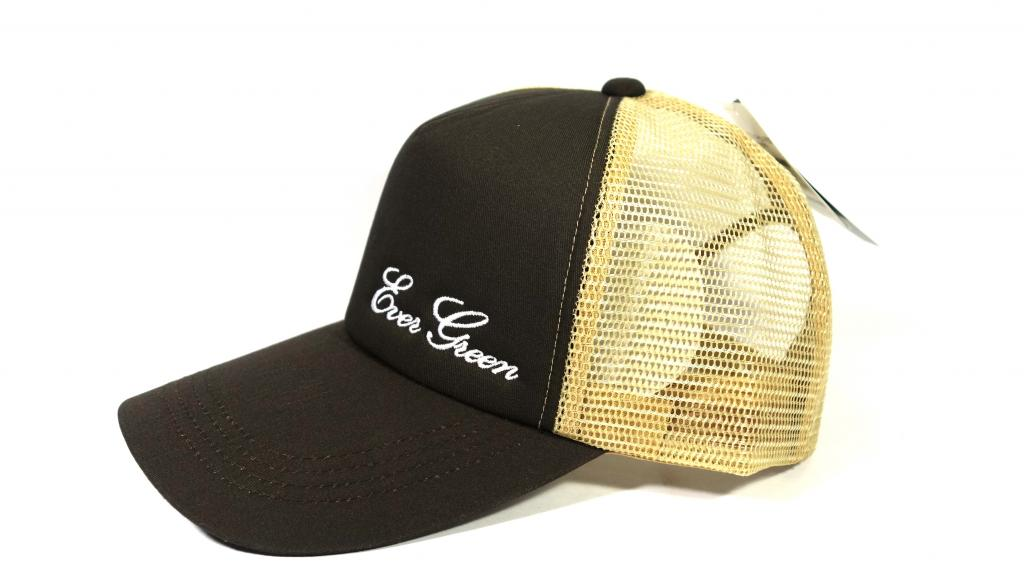 Evergreen Cap Mesh Cap Original Japan Free Size Brown Beige (2398)