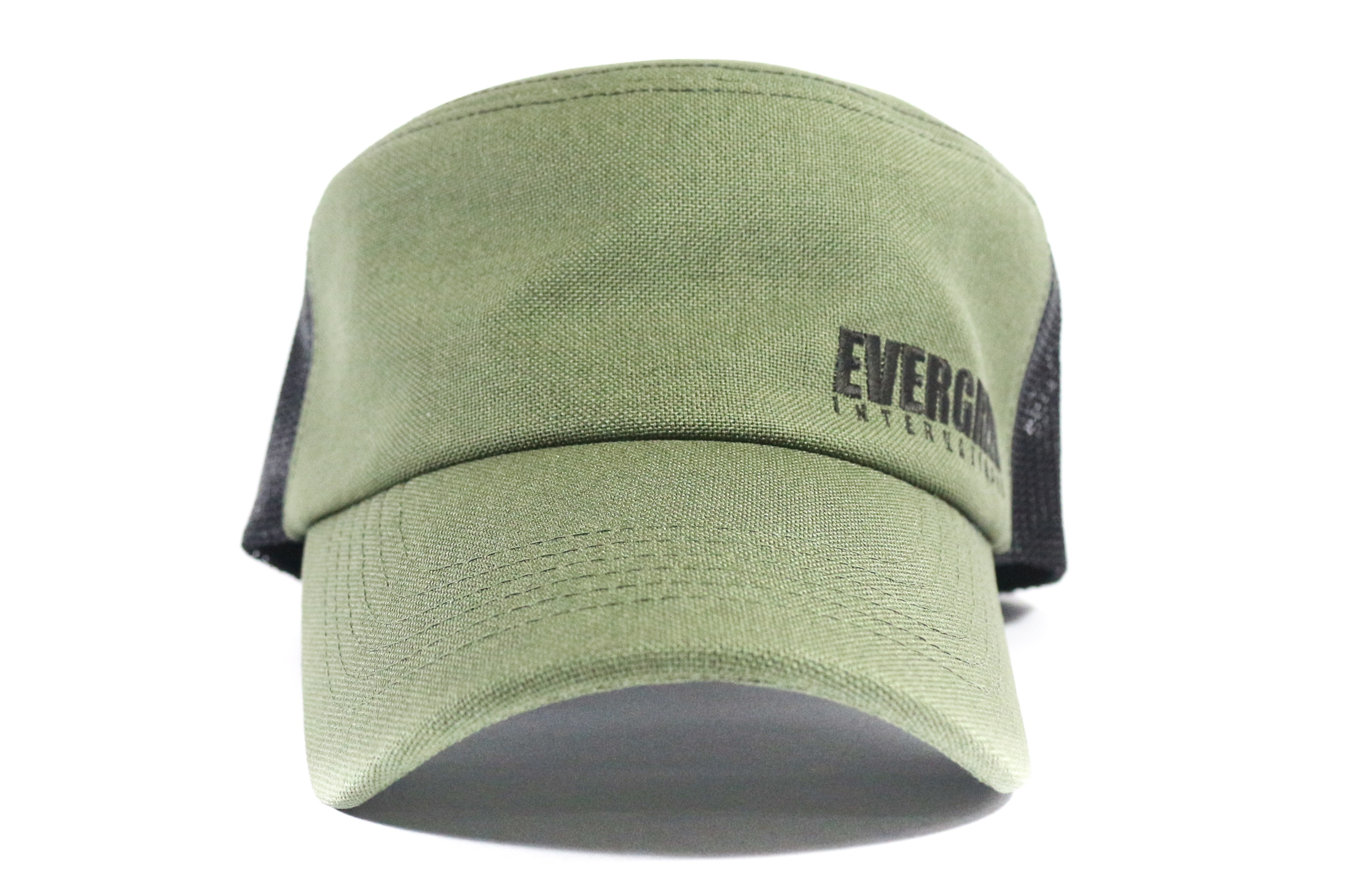 Evergreen Cap Mesh Work Cap Military Green (3240)