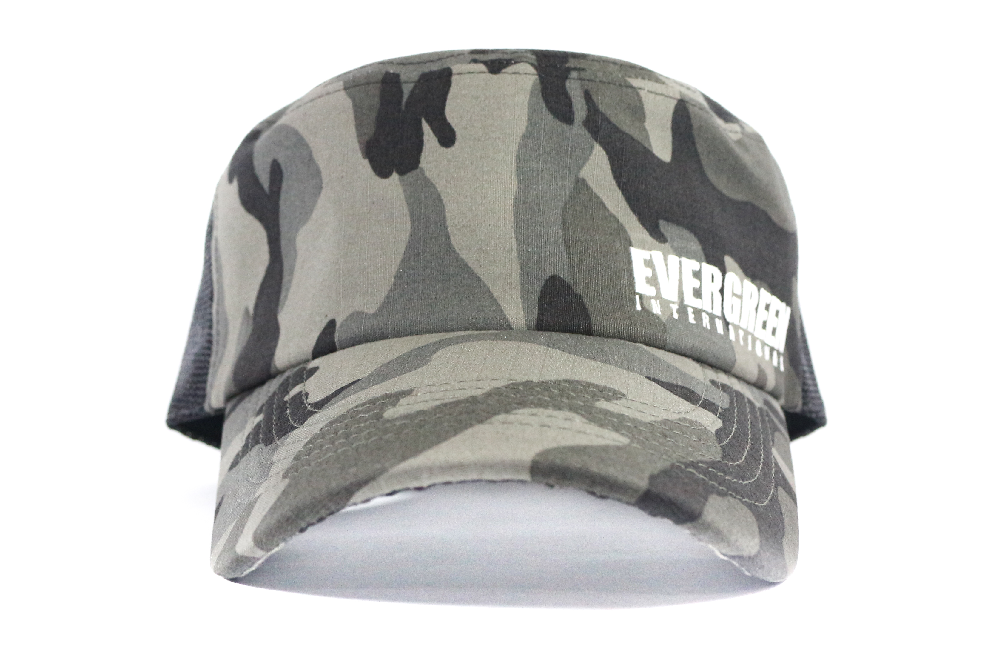 Evergreen Cap Mesh Work Cap Gray Camou (3257)