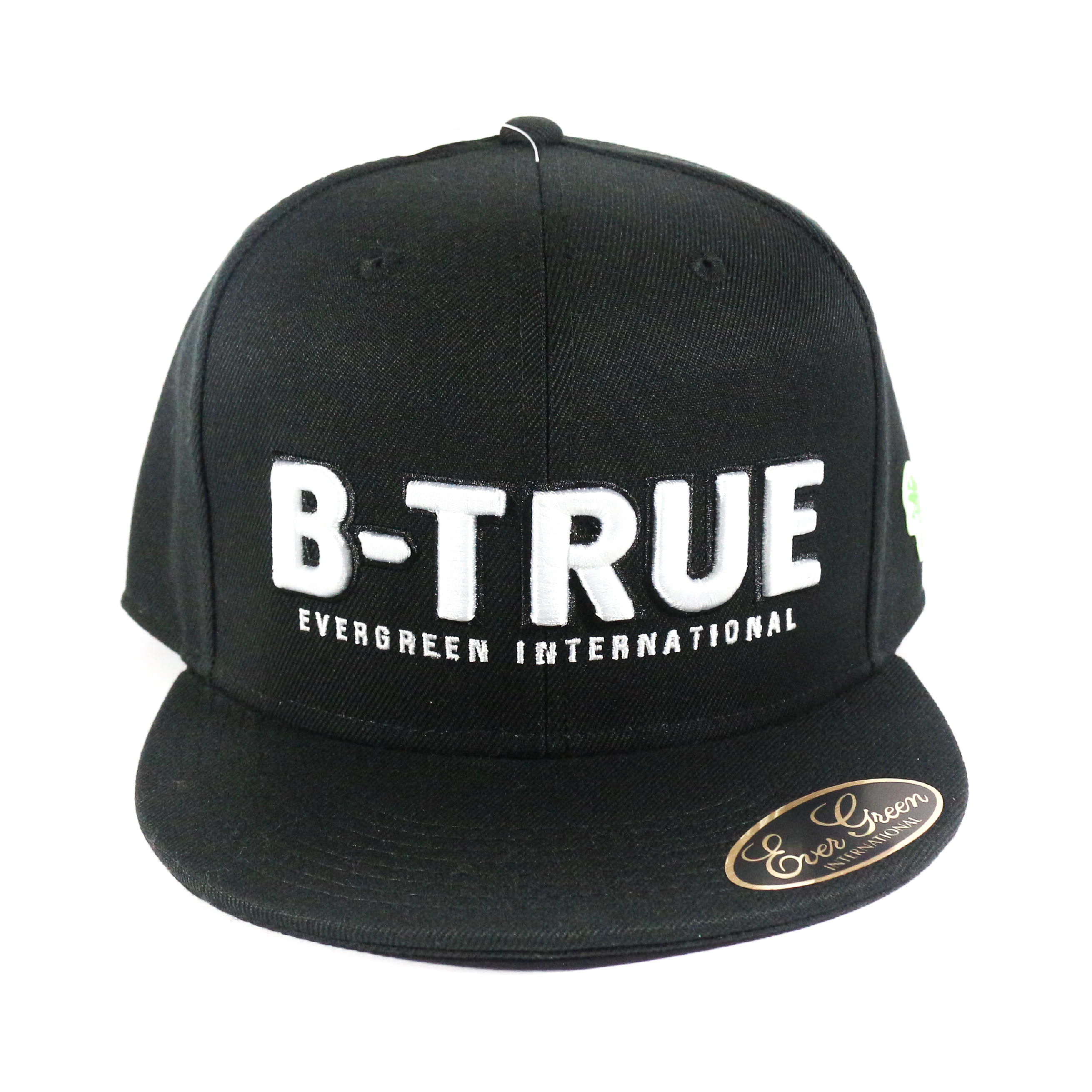 Evergreen Cap Flat Cap B-True Type A Japan Free Size Black (8467)